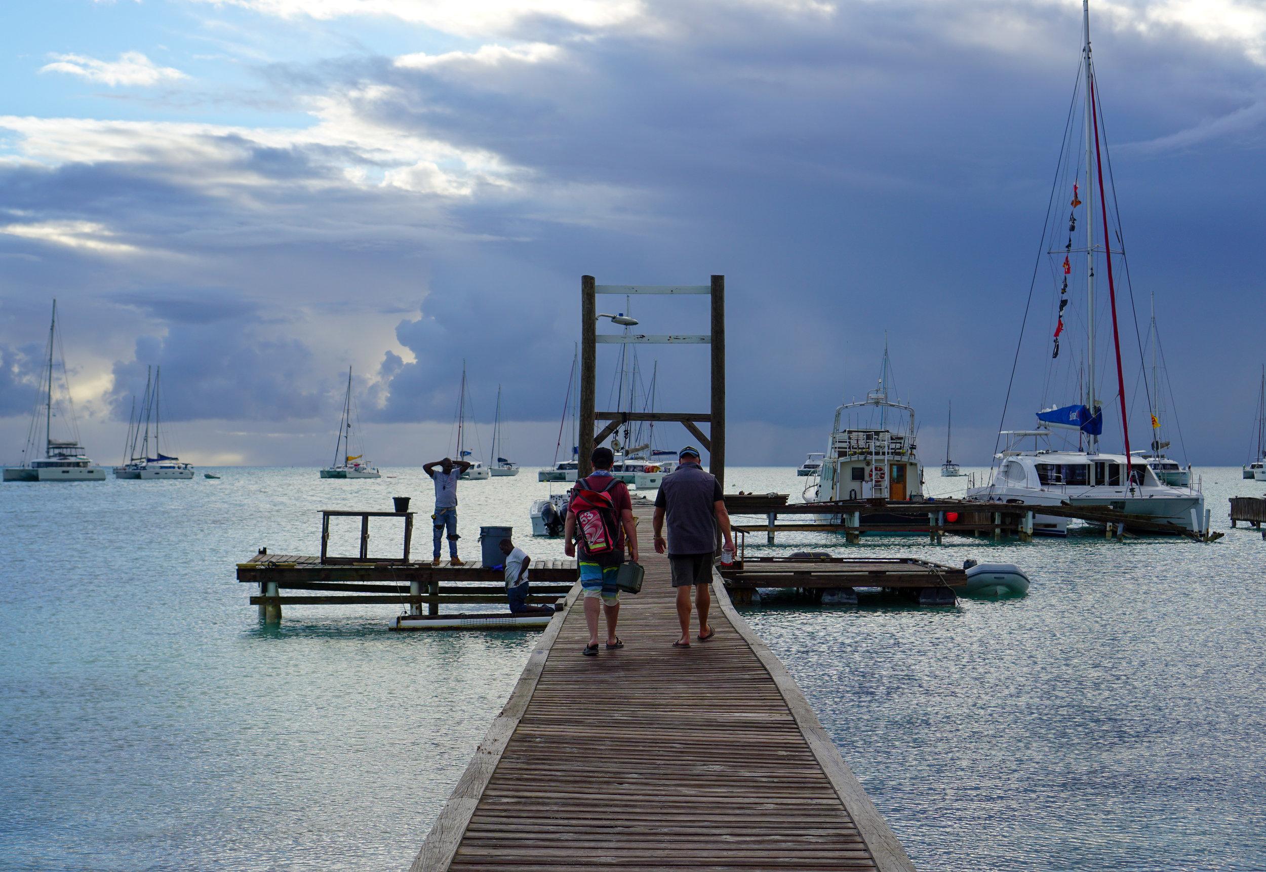 Sailing Through the BVIs