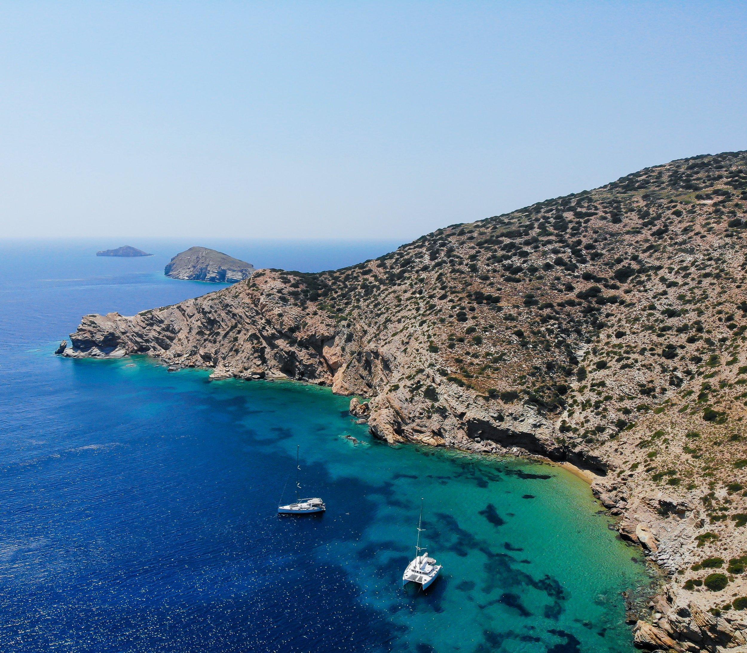 Sailing through Greece