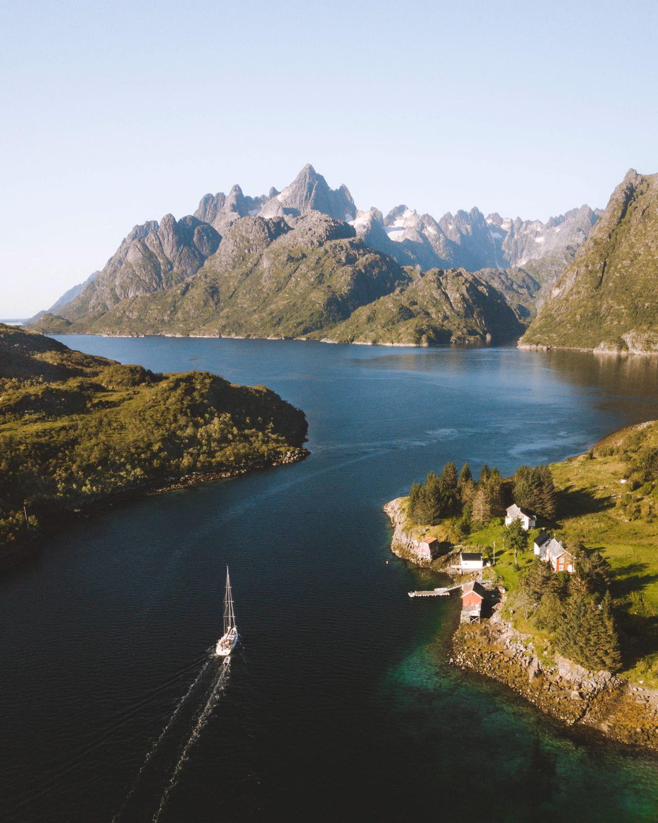 Sailing the Fjords of Norway
