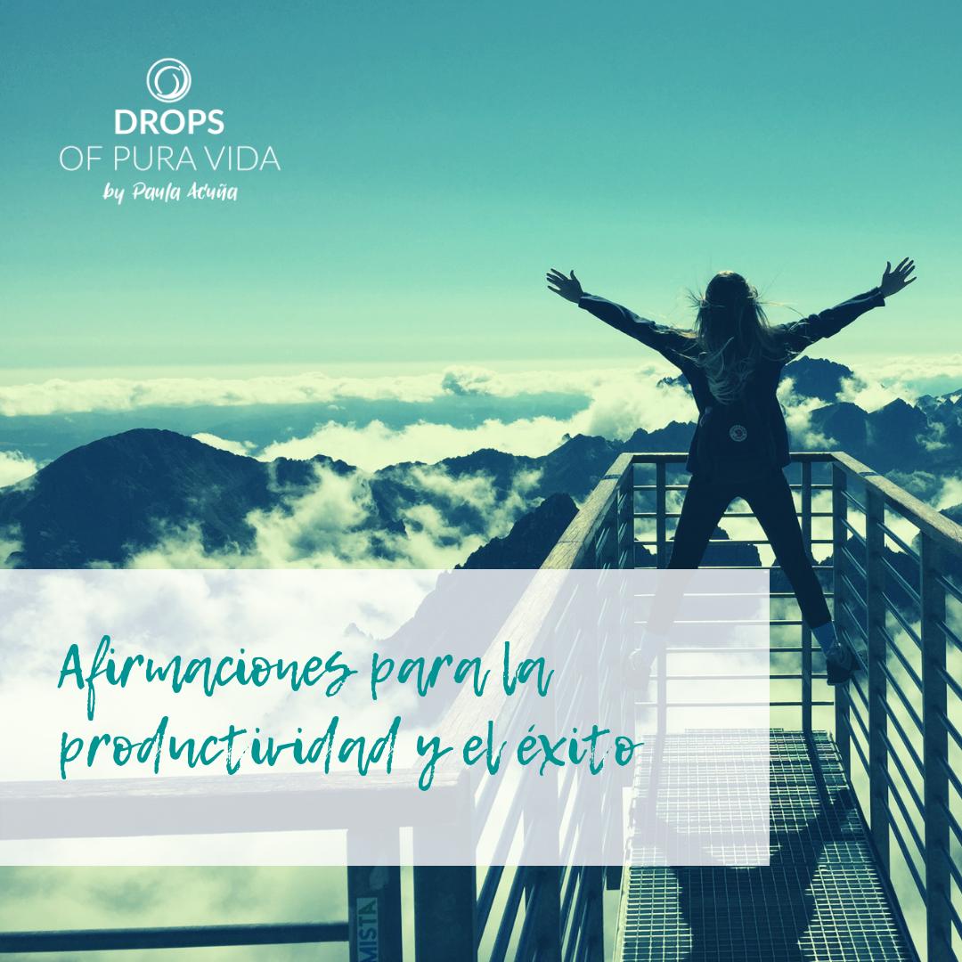 Afirmaciones para la  productividad y el éxito - Programa tu subconsciente para lograr todo lo que te propongas.Descubre las herramientas para la nueva productividad y el éxito diseñado a tu medida.