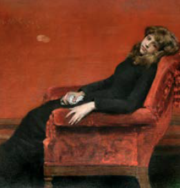 William Merritt Chase , Young Orphan
