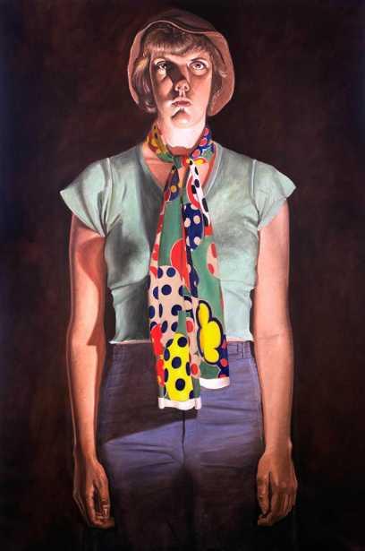 """Cindy Cresswell,"" 1976-1977"