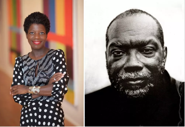 Top right, Kerry James Marshall is No. 2 on the Power 100 List. | Photo by Broomberg & Chanarin; Above, Thelma Golden and Fred Moten rank in the top 10. | Photos by Julie Skarratt and Kari Orvik