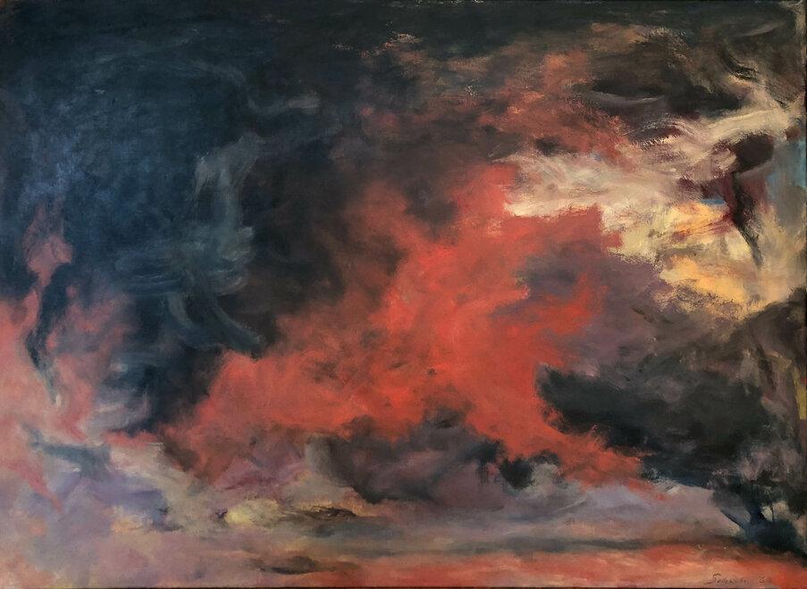 Jon Schueler, NA,  Storm , 1962