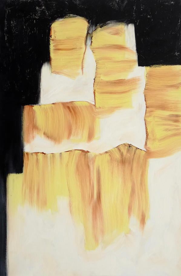 Martha Diamond, NA: New Space, Date unknown, oil on linen. 24x36 in.