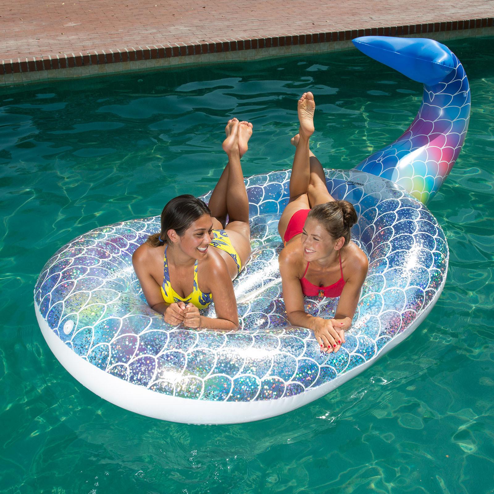 Glitter Sparkles Mermaid Island |   Available at Sam's
