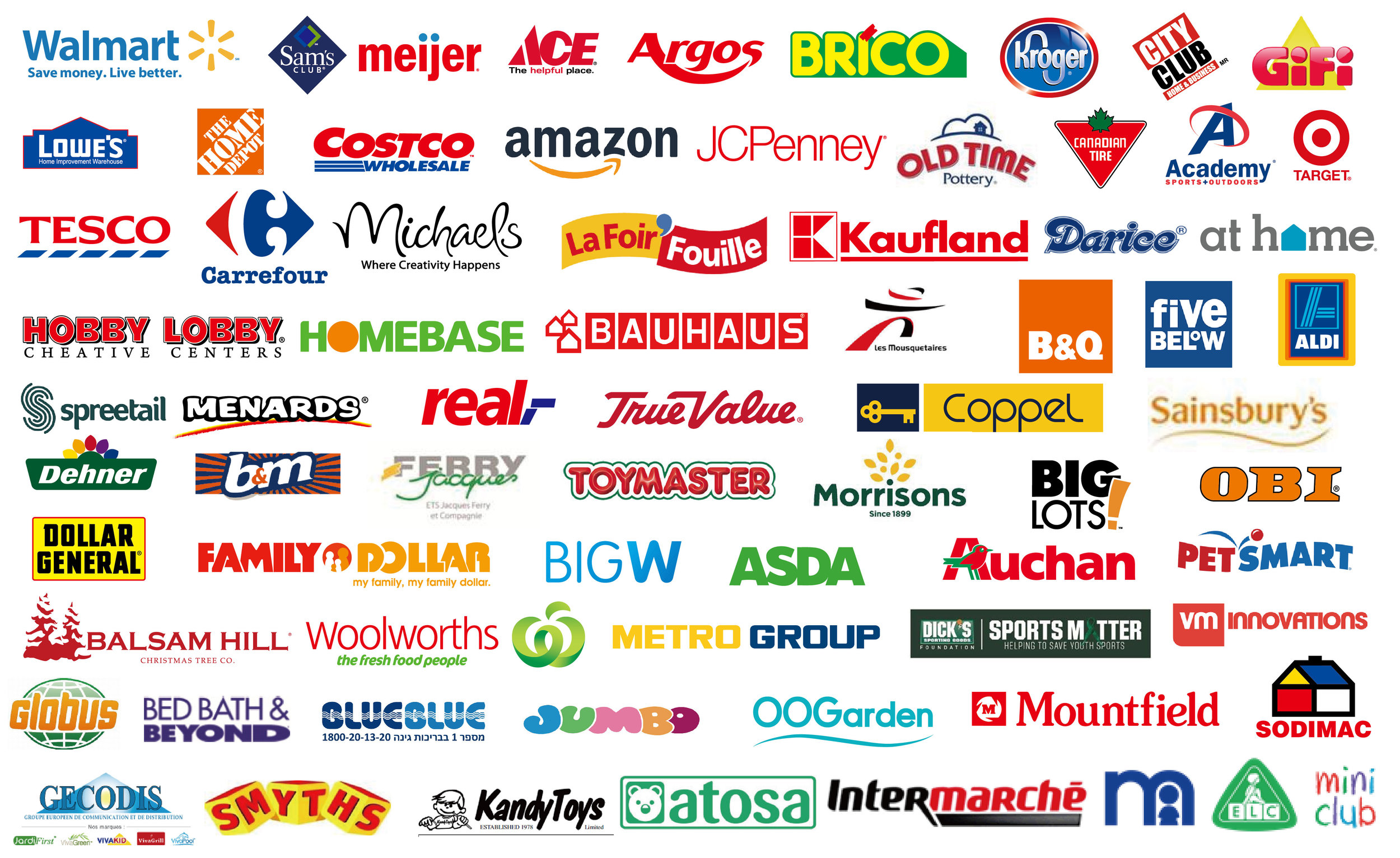 Retailer trademarks are the property of their respective owners, and such companies are not affiliated with Polygroup® or the Polygroup® family of companies.