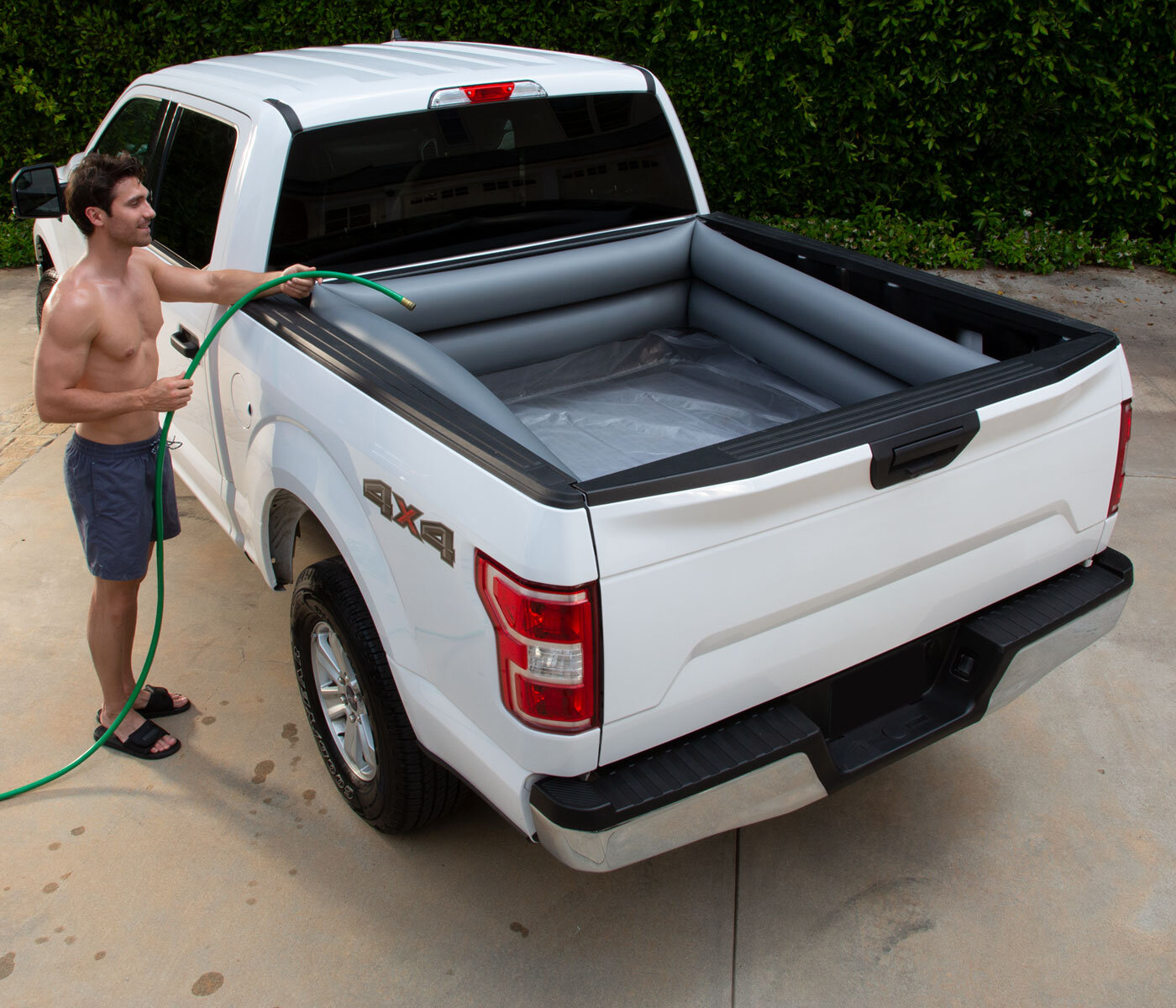 Summer Waves Truck Bed Pool Available In Walmart Polygroup