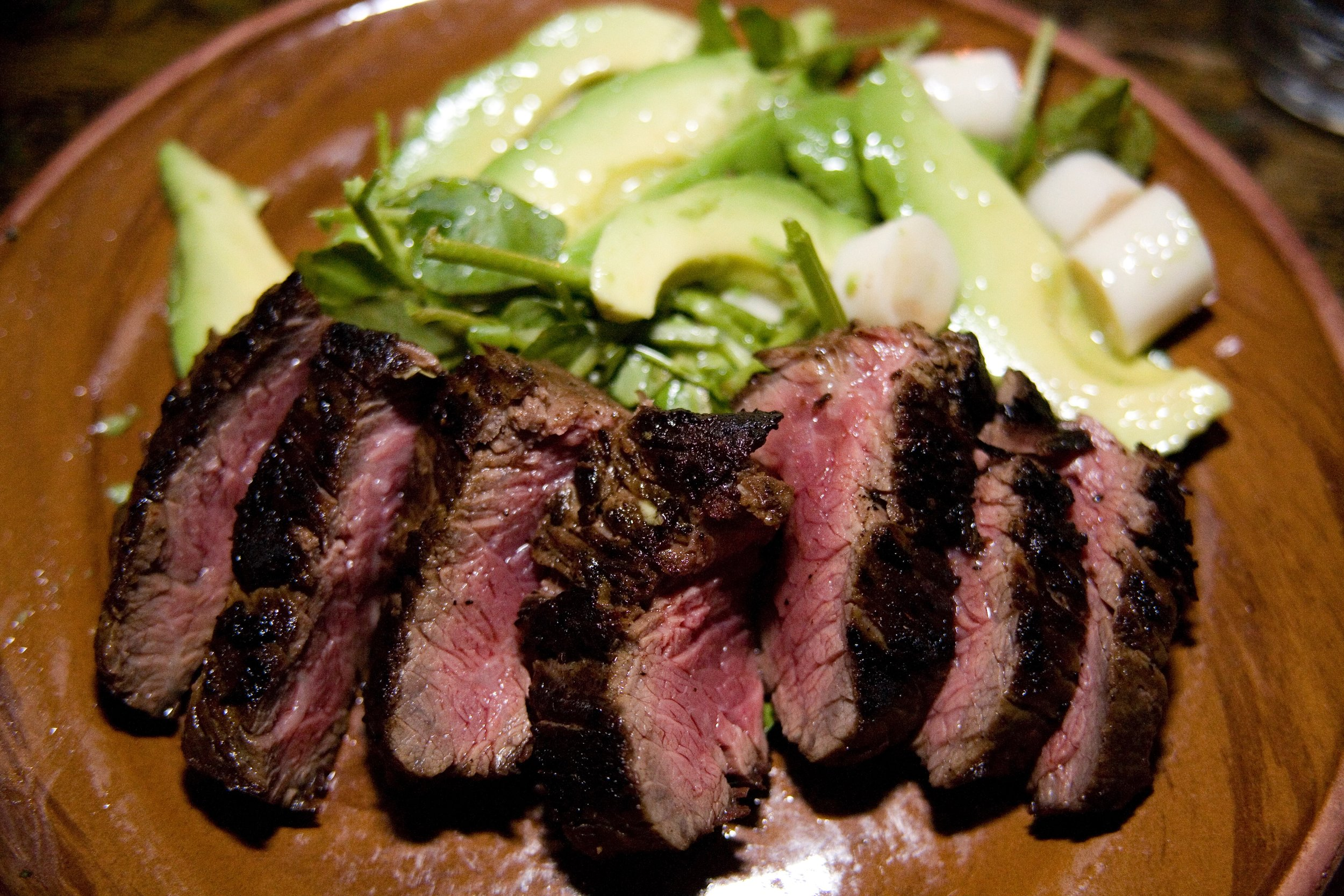 Flank Slad with Avocado + Heart of Palm