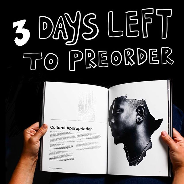 🖤 3 DAYS TO LEFT TO PREORDER !! 🖤 Grab a book now or never y'all. It's the last time we're doing this. Thank you to all who have already purchased a book and supported this project. (Link in bio)