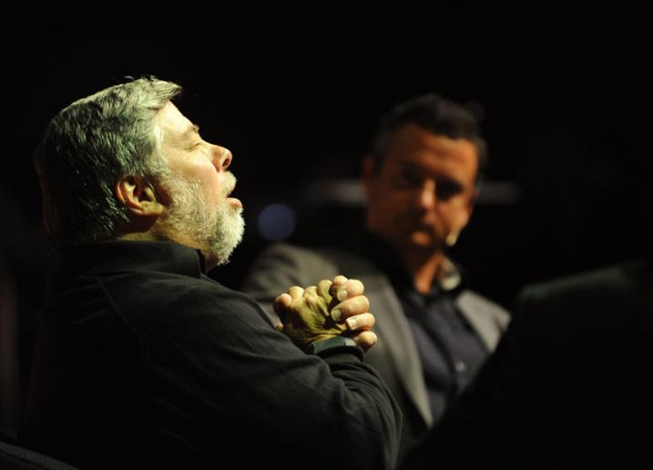 Francois Sibbald i intervju med Steve Wozniak fra Apple