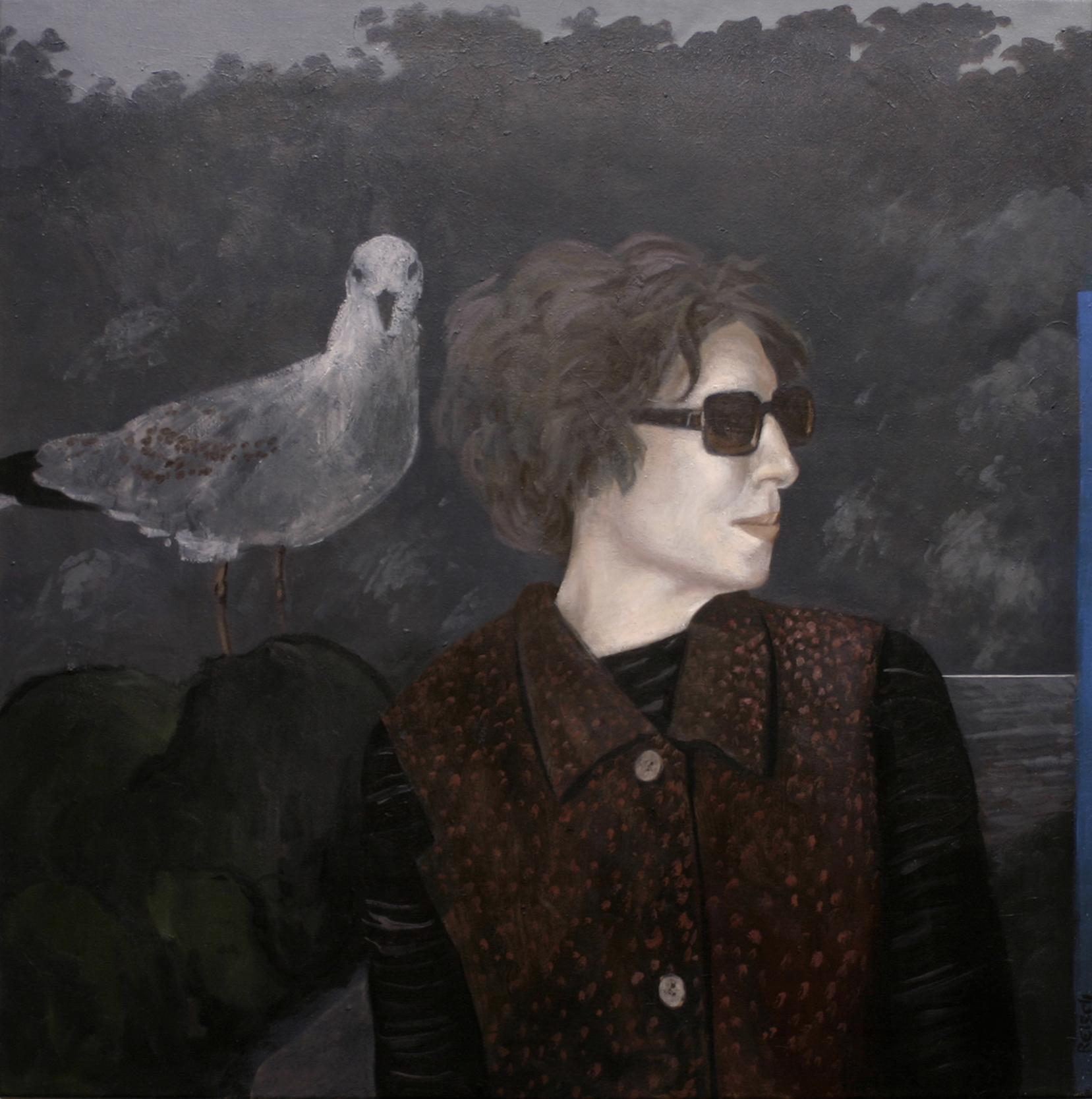 Miriam  oil on canvas-92x92cm