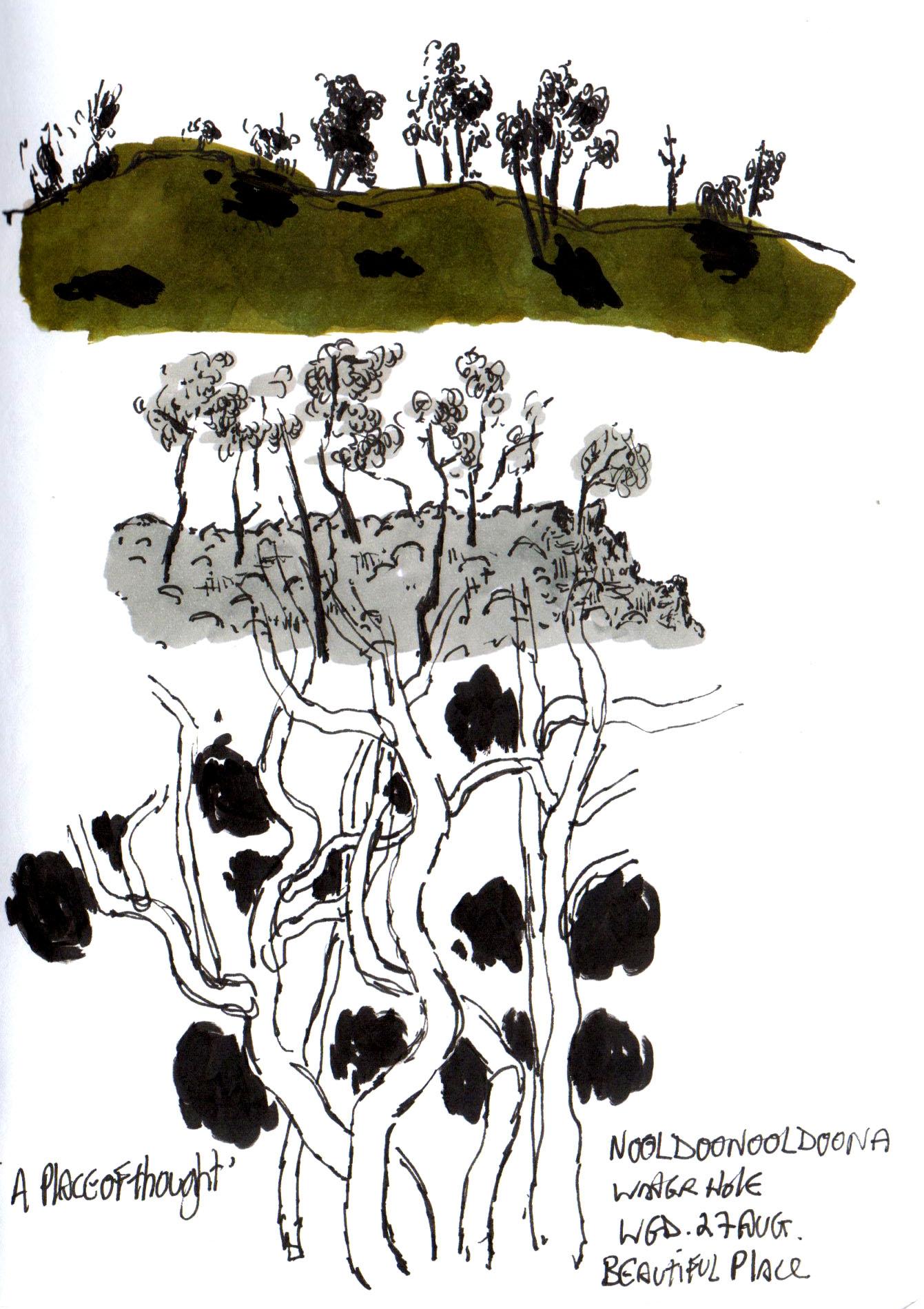 Fig 2:   Arkaroola  Book 76 2014