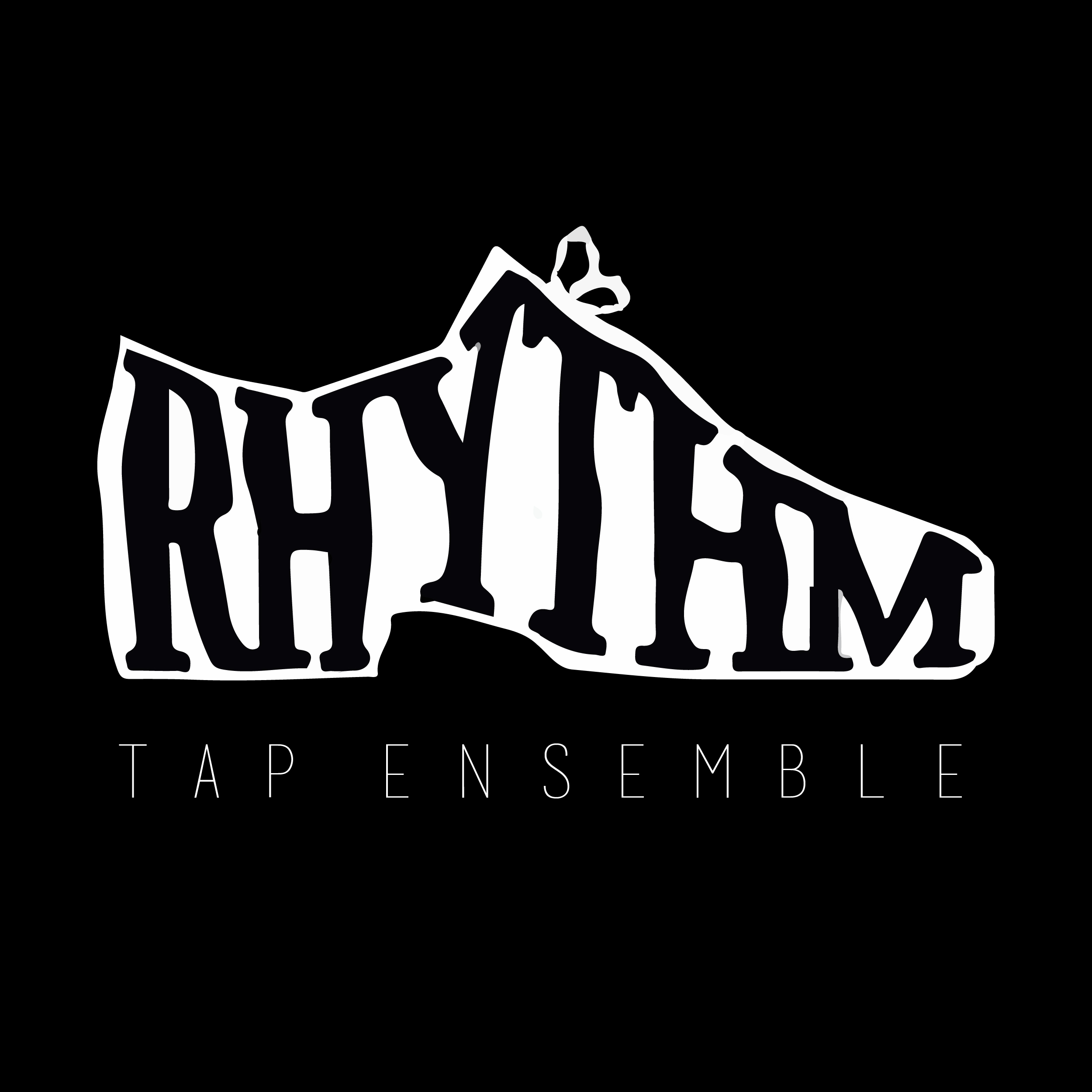 RhythM Tap Ensemble   RhythM Tap Ensemble was founded at the University of Michigan in the Fall of 2000 with the purpose of promoting tap dance on campus. They are a student-run performance group comprised of passionate and dedicated, advanced tap dancers. They choreograph their own dances and conduct regular rehearsals during the school year. Their efforts can be seen in several large performances each year, as well as several variety shows and charity events.