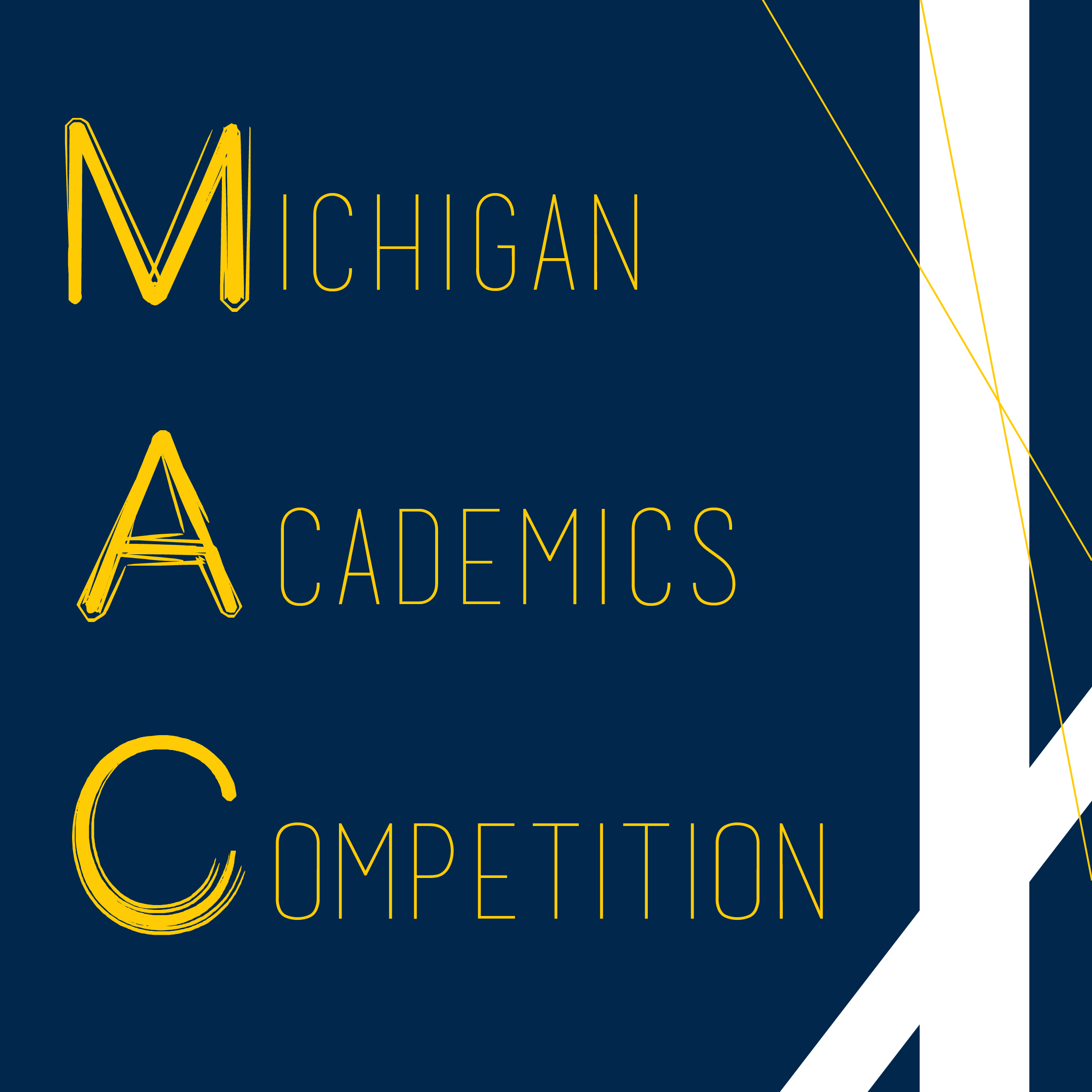 Michigan Academics Competition (MAC)   Welcome to the website for Michigan Academic Competitions, or Quiz Bowl! Our organization is devoted to academic and pop-culture trivia and competition.