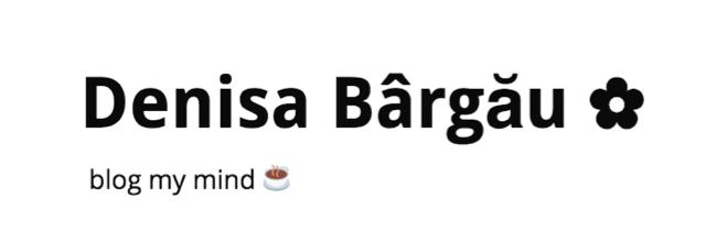 Denisa Bargau - The New Storytellers