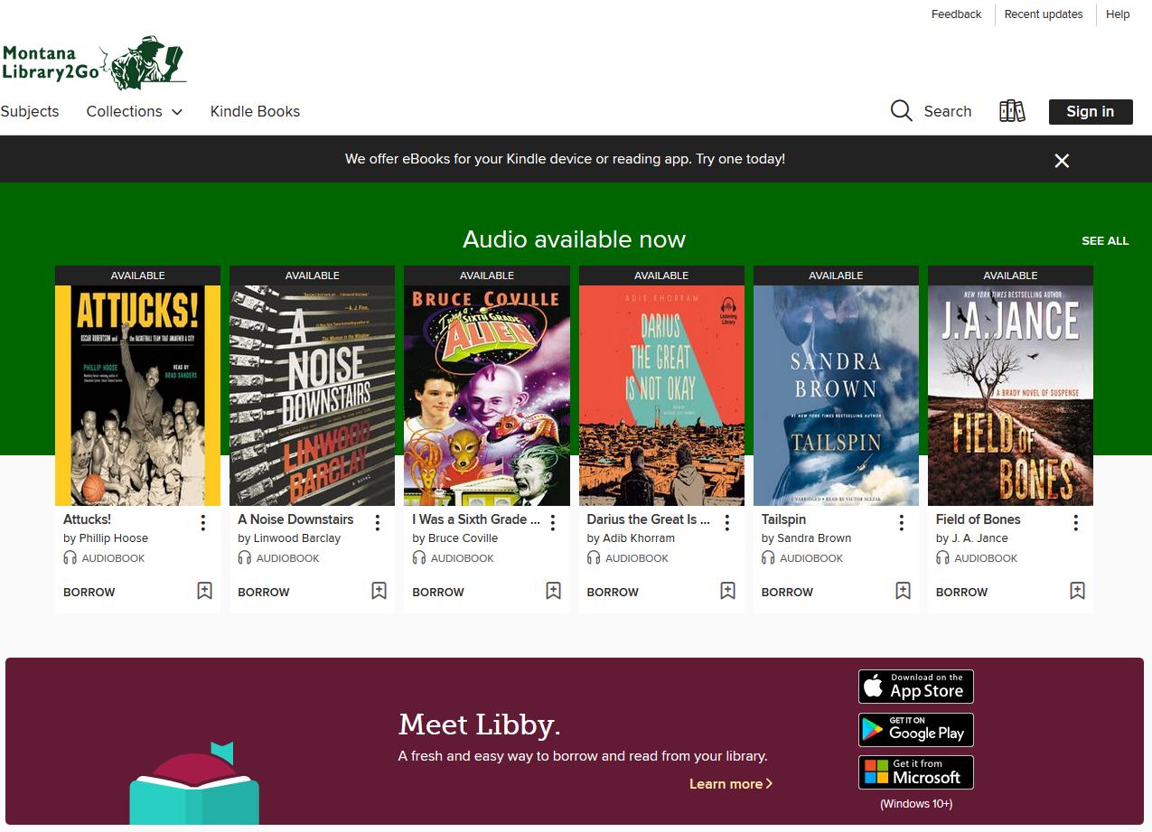 Ebooks &Audiobooks -