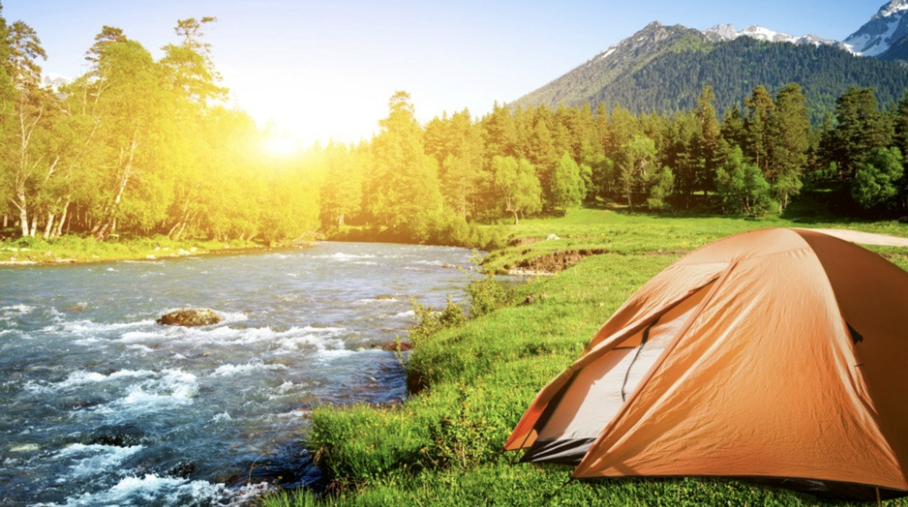 Camping - You could be here.