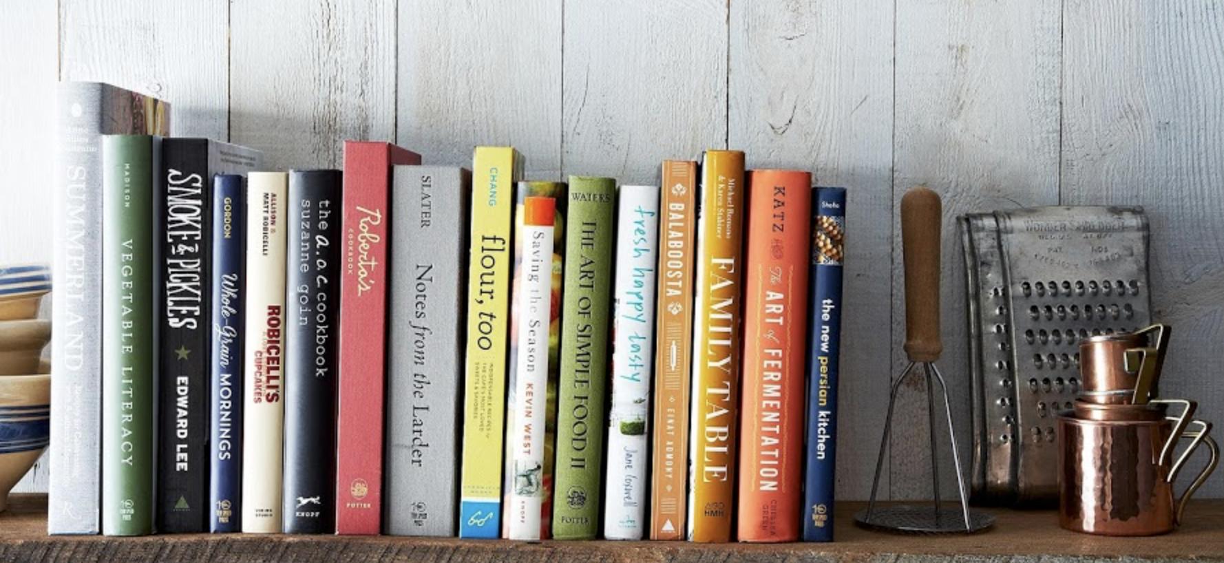 cook books -