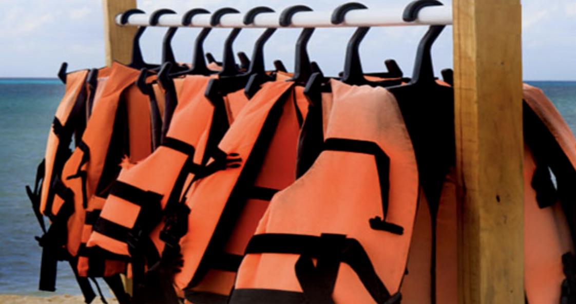 life jackets -