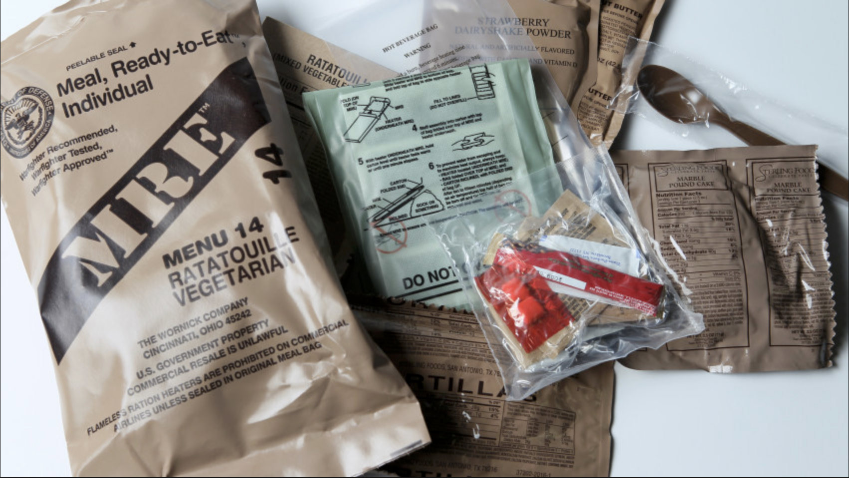 mre mealsready to eat -