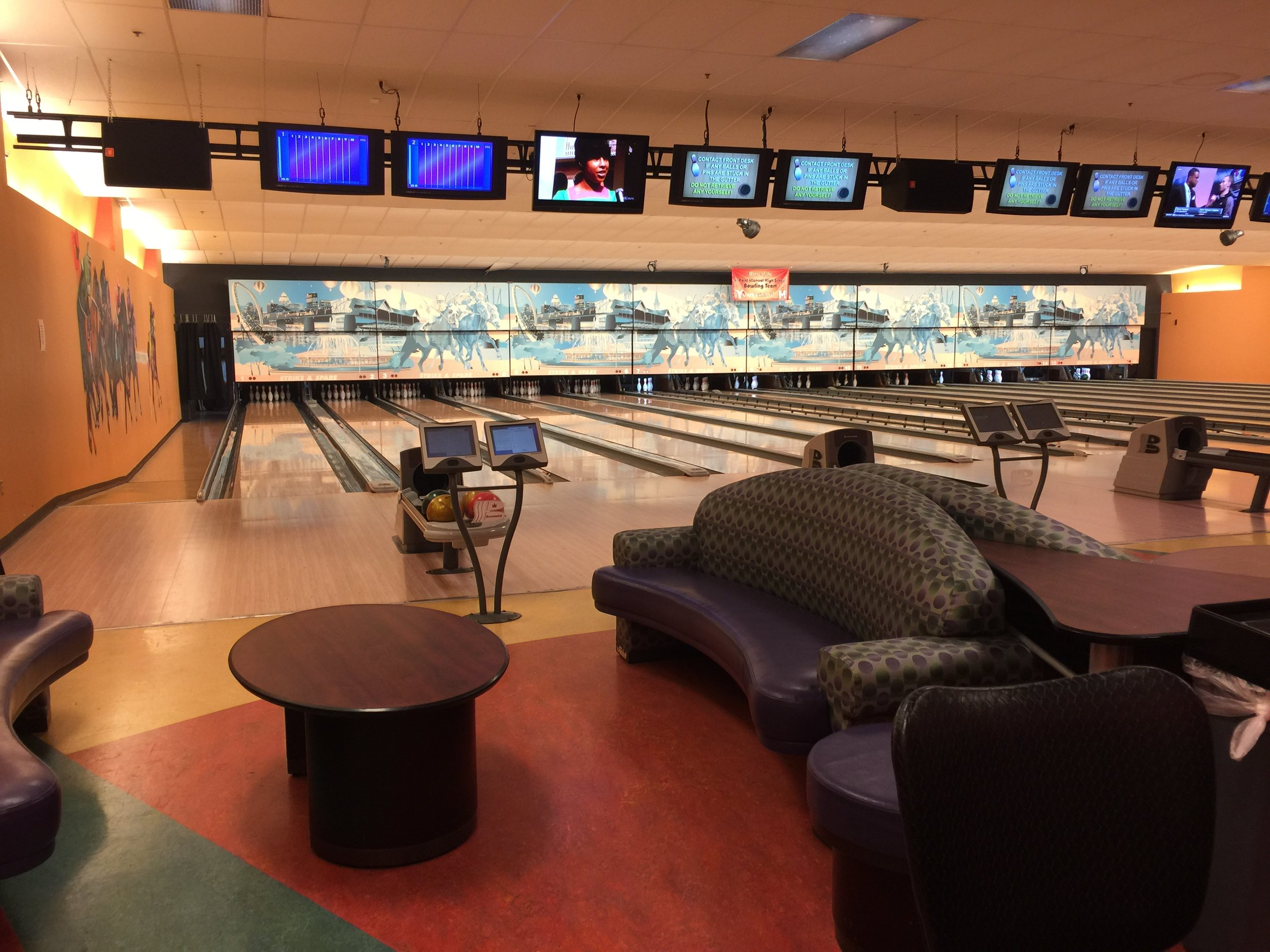 VIP Party Bowling Lanes