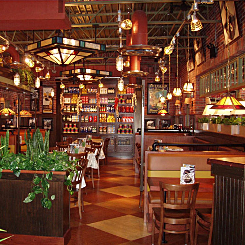 Interior Restaurant Seating Pizzeria Uno