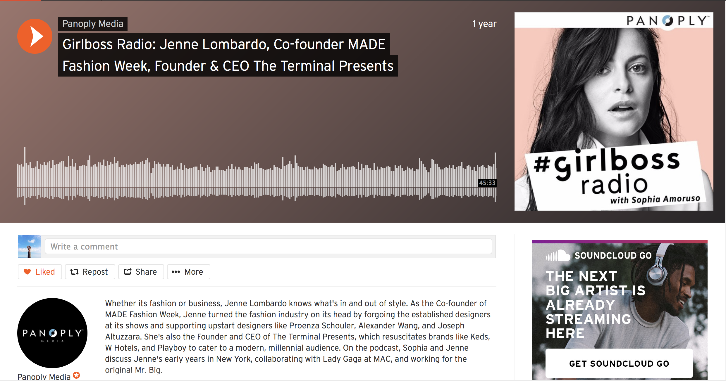 Girlboss - Jenne Lombardo - Girlboss Radio Interview