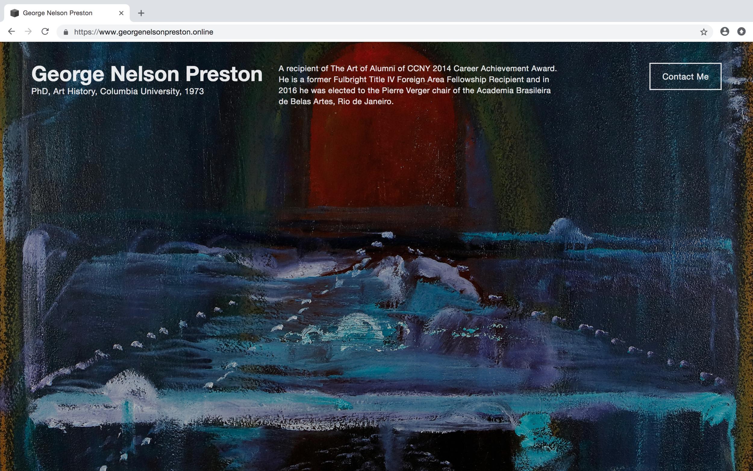 George Nelson Preston -