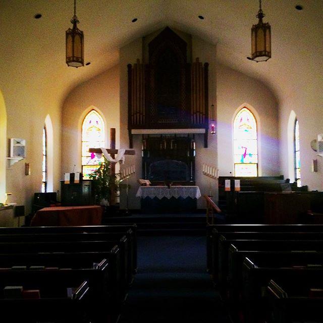 The sanctuary #stainedglass #church #jesus #god #sunday #belleville #unitedchurchofchrist #illinois