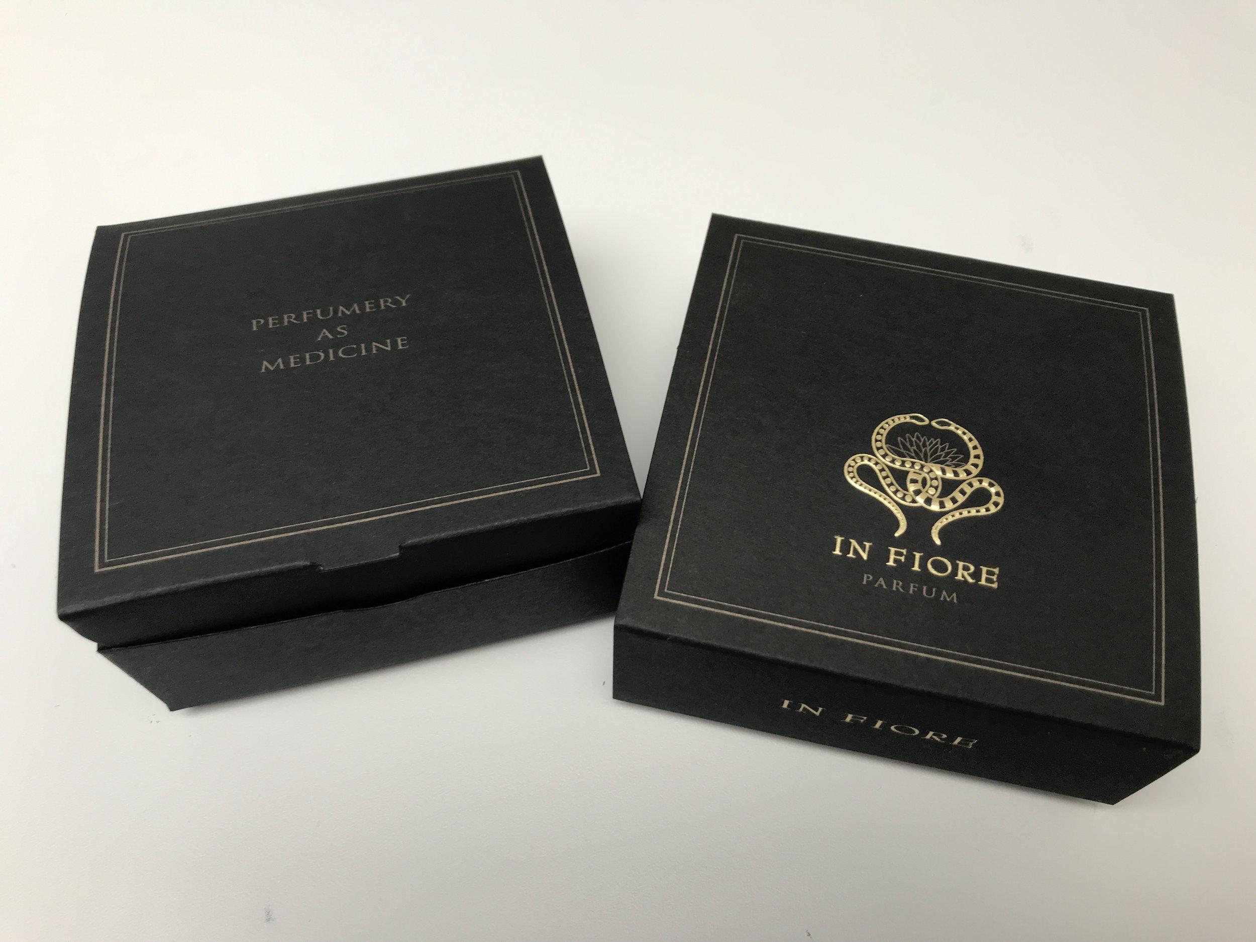 In Fiore perfume box