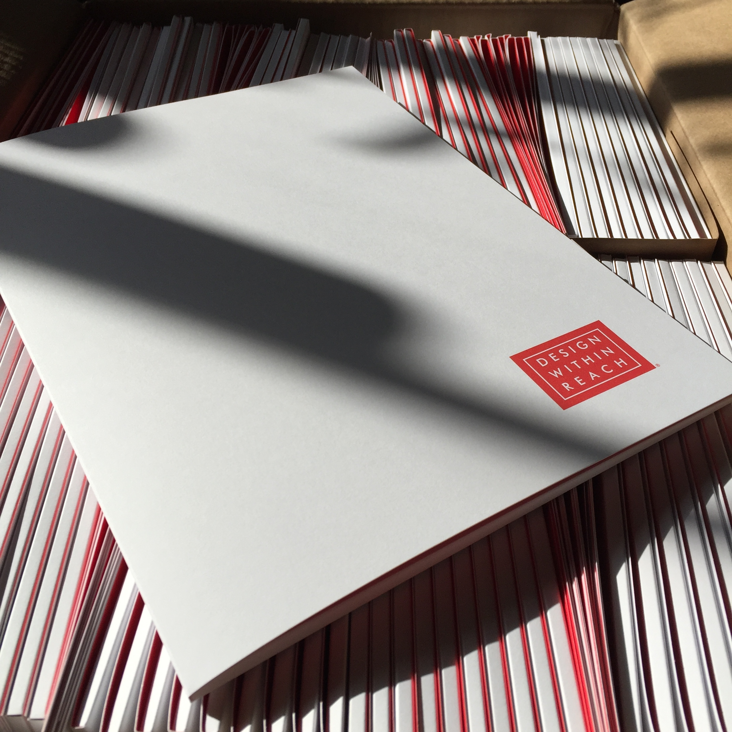 Offset printed folders