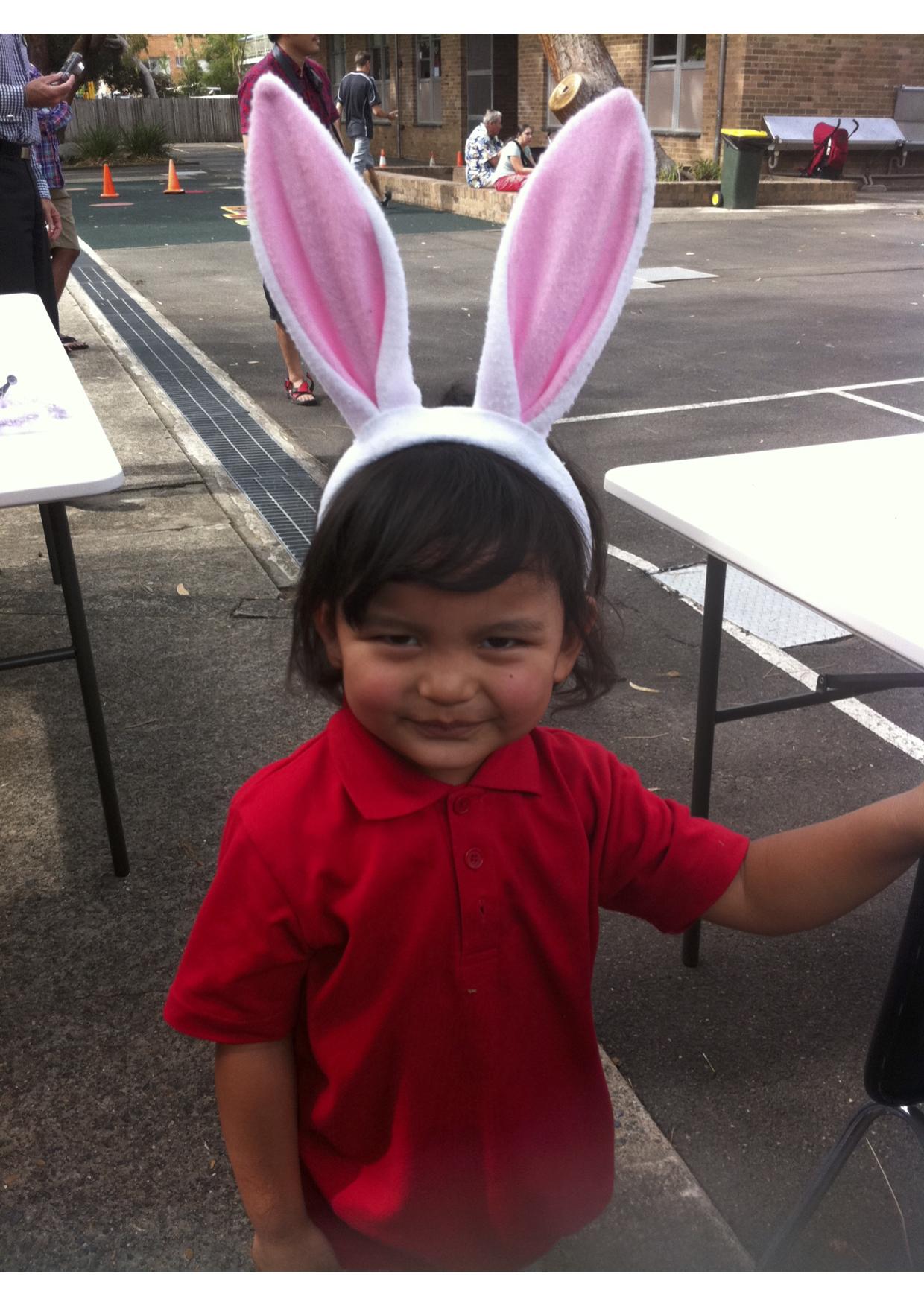 Saldon in Easter hat parade.jpg