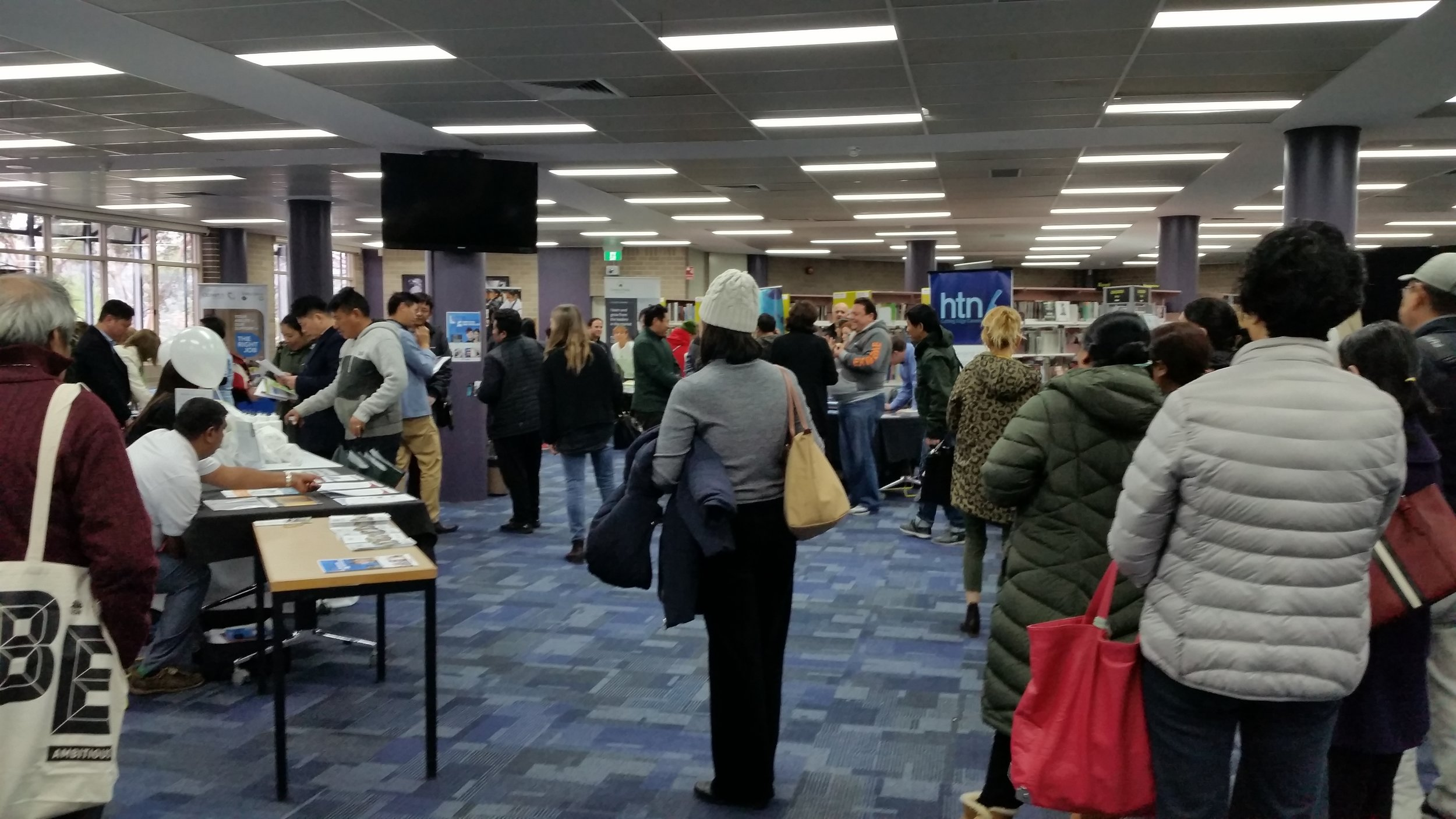 Employment Expo at Northern Beaches' TAFE