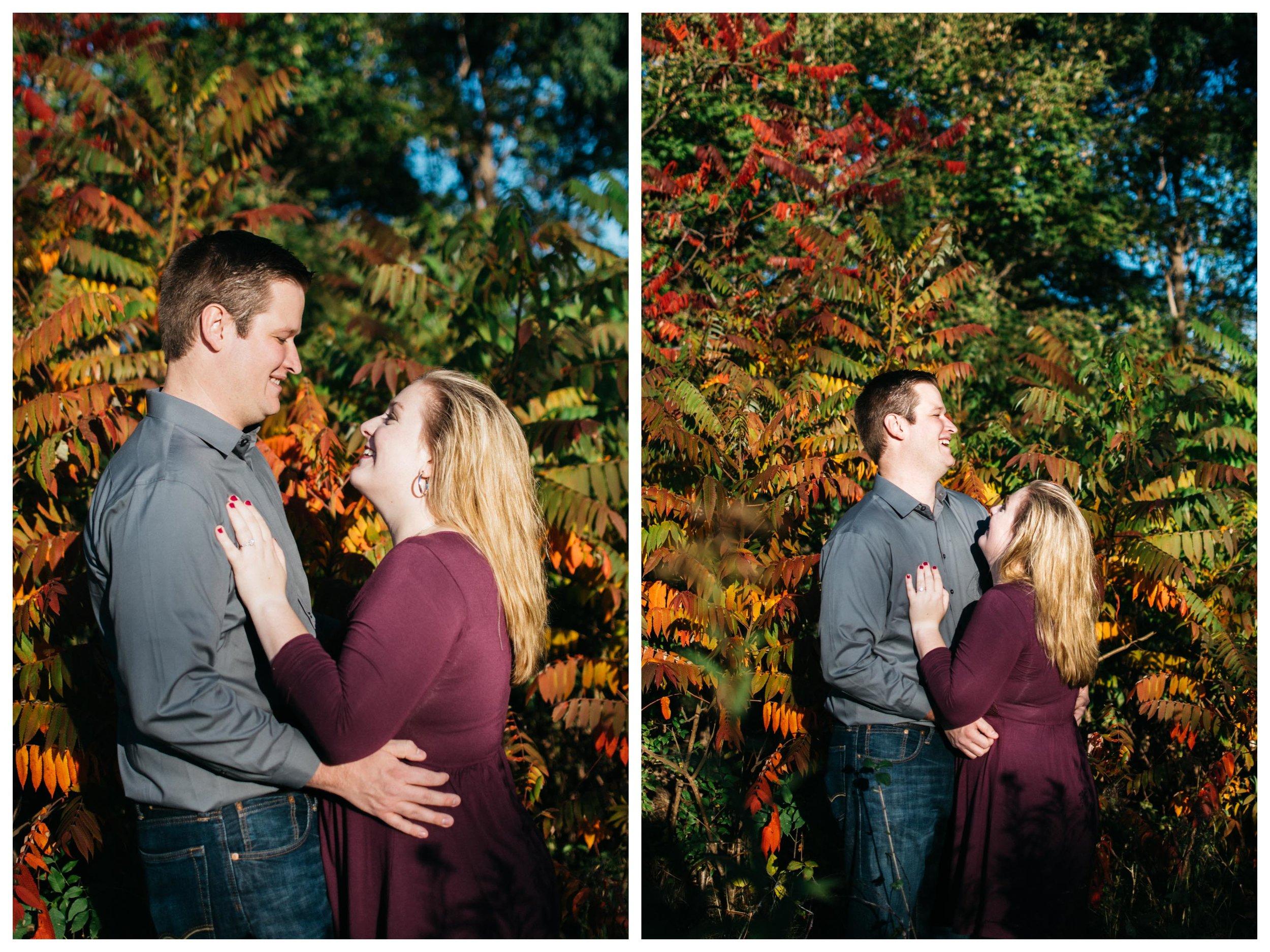 Autumn Engagement Minneapolis Minnesota