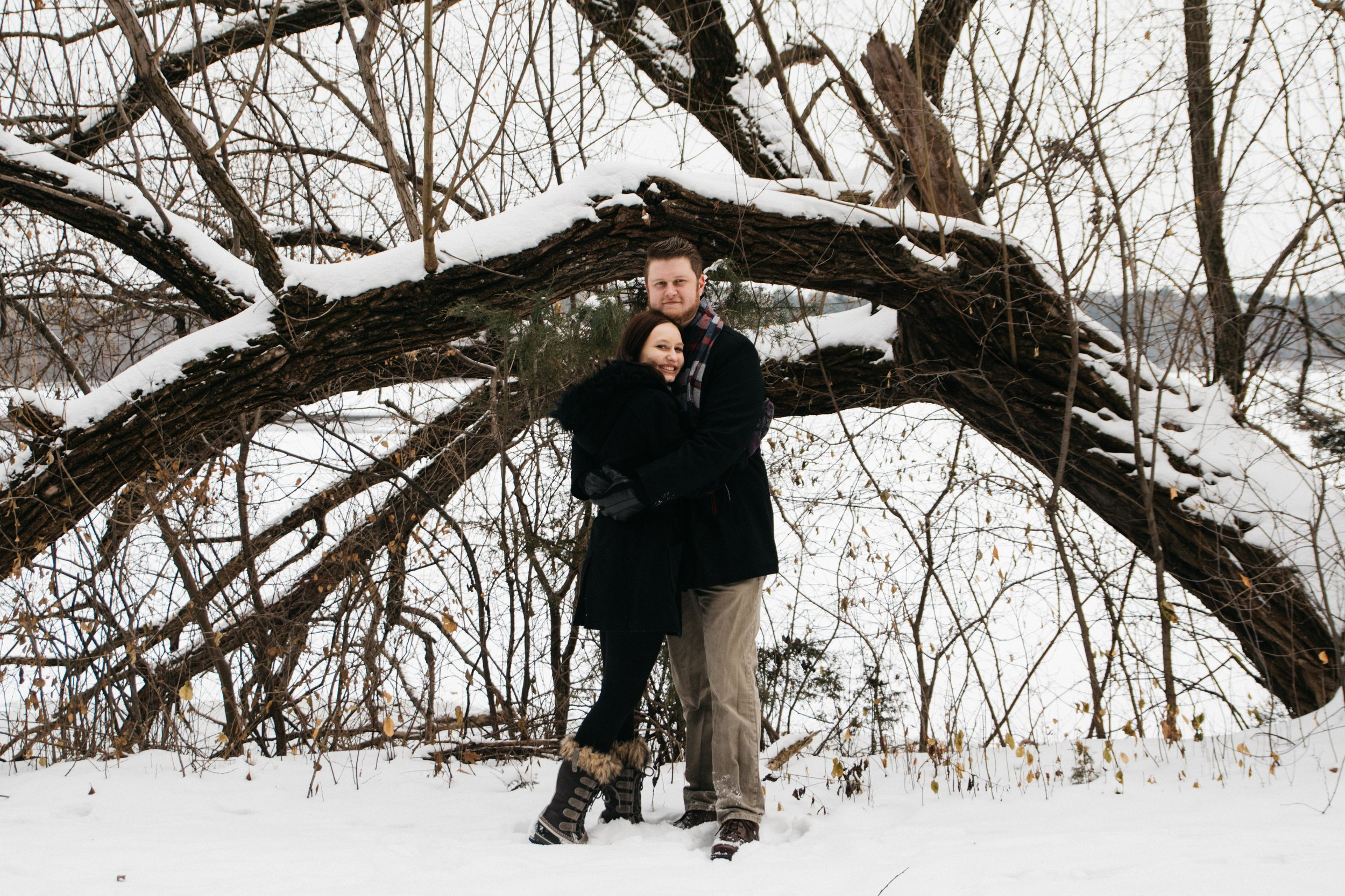 Sara and Tom Minneapolis Winter Engagement-13.jpg