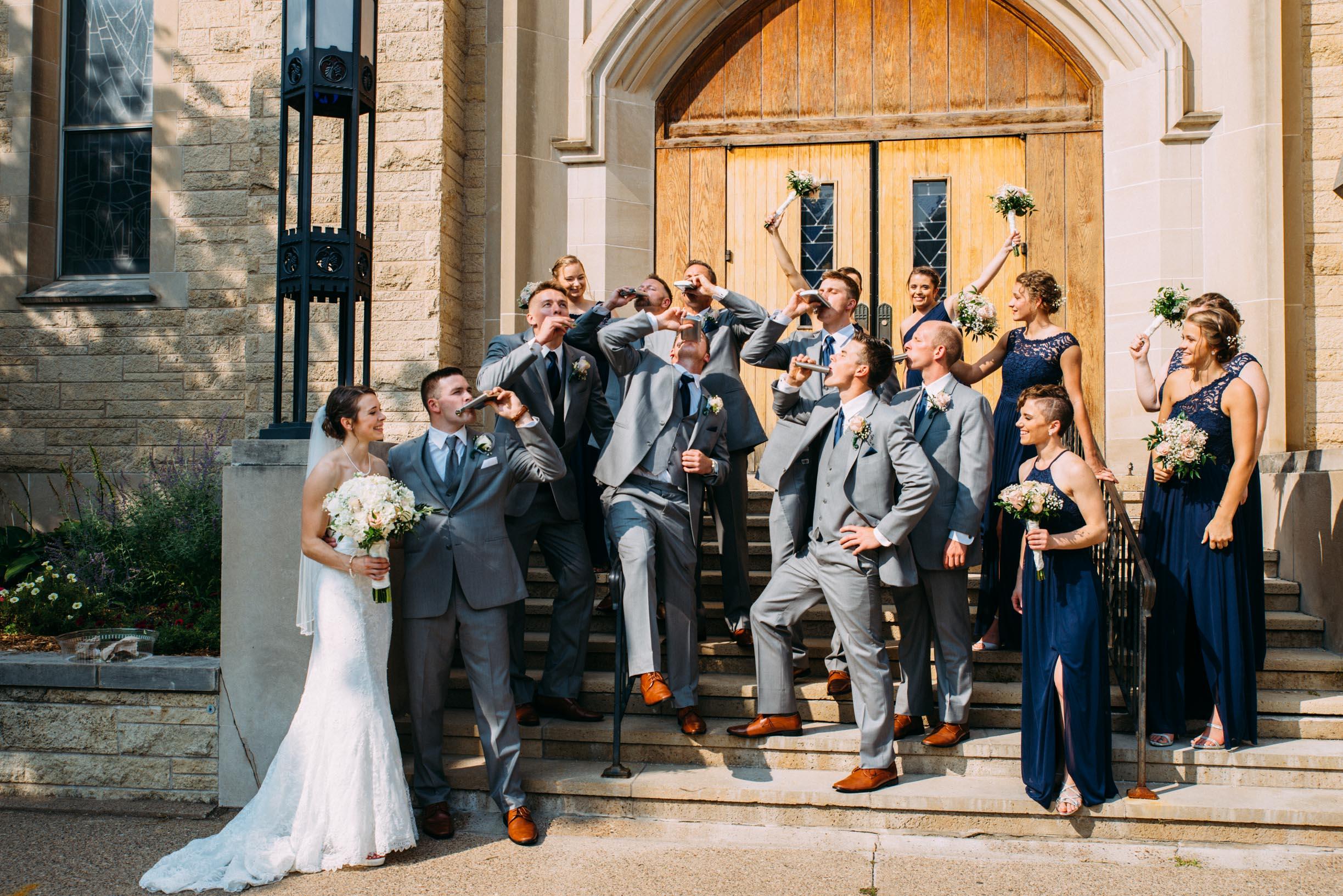 18-Lindsey Jake Wedding Party Winona St Martin's Lutheran Church.jpg