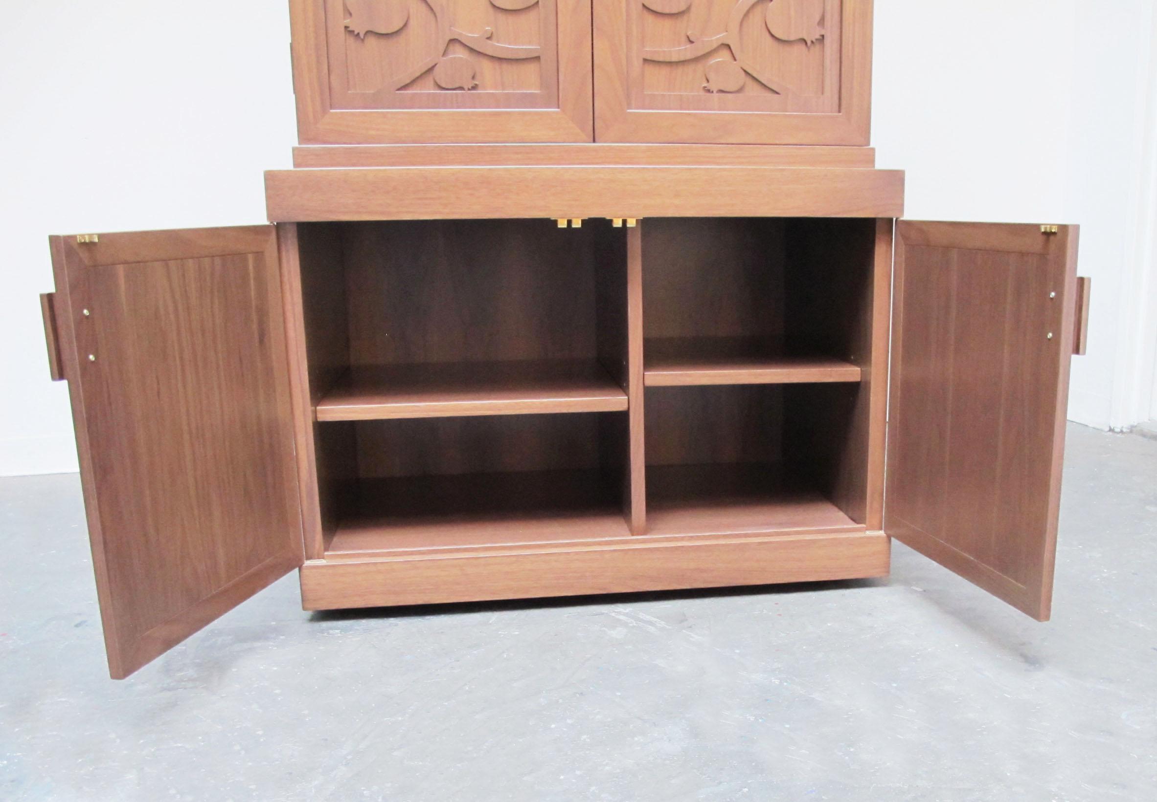 Storage Space below the Torah Ark