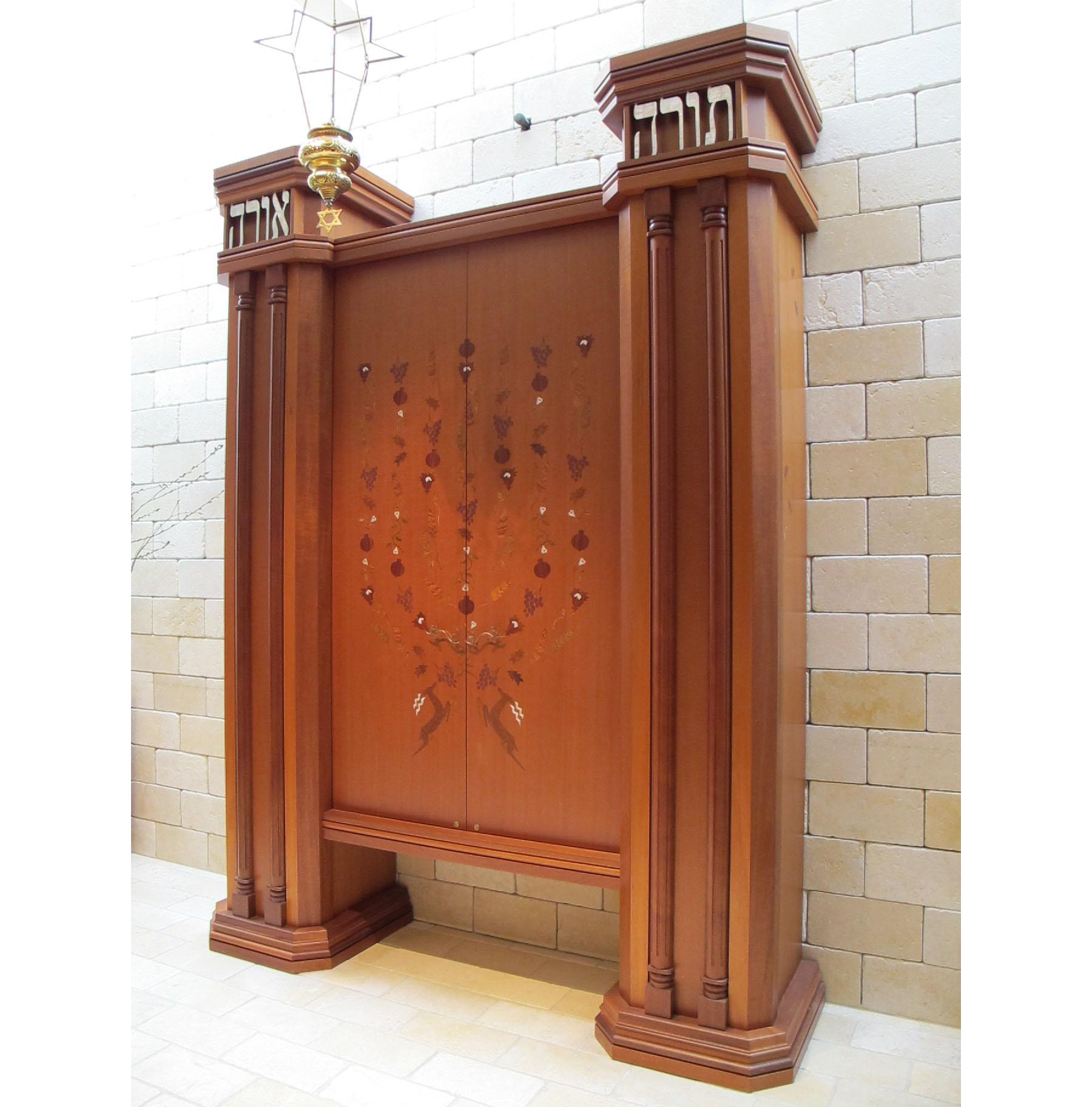 Torah Ark at Brooklyn Heights Synagogue