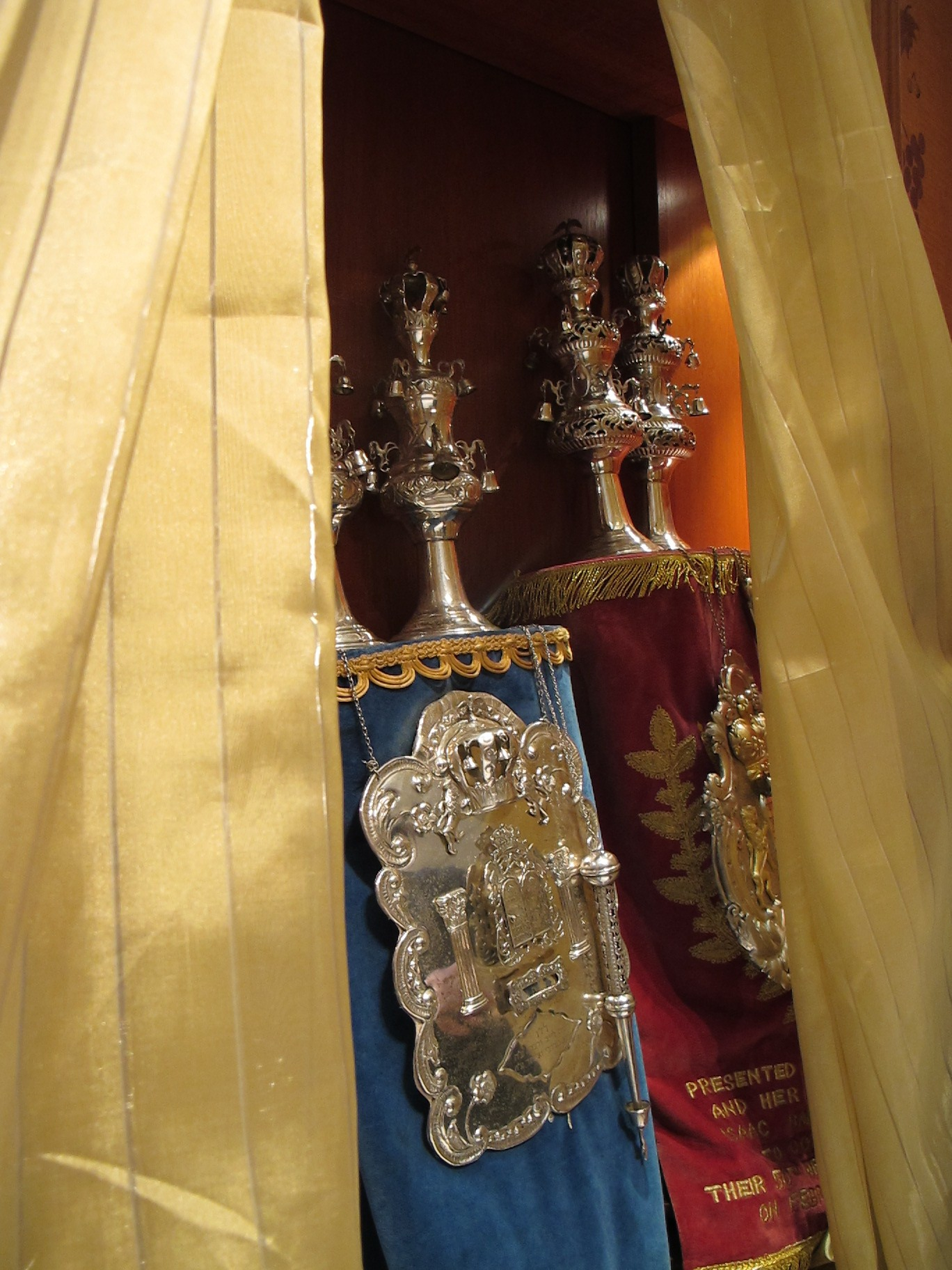 Torah Ark Aron Kodesh Interior