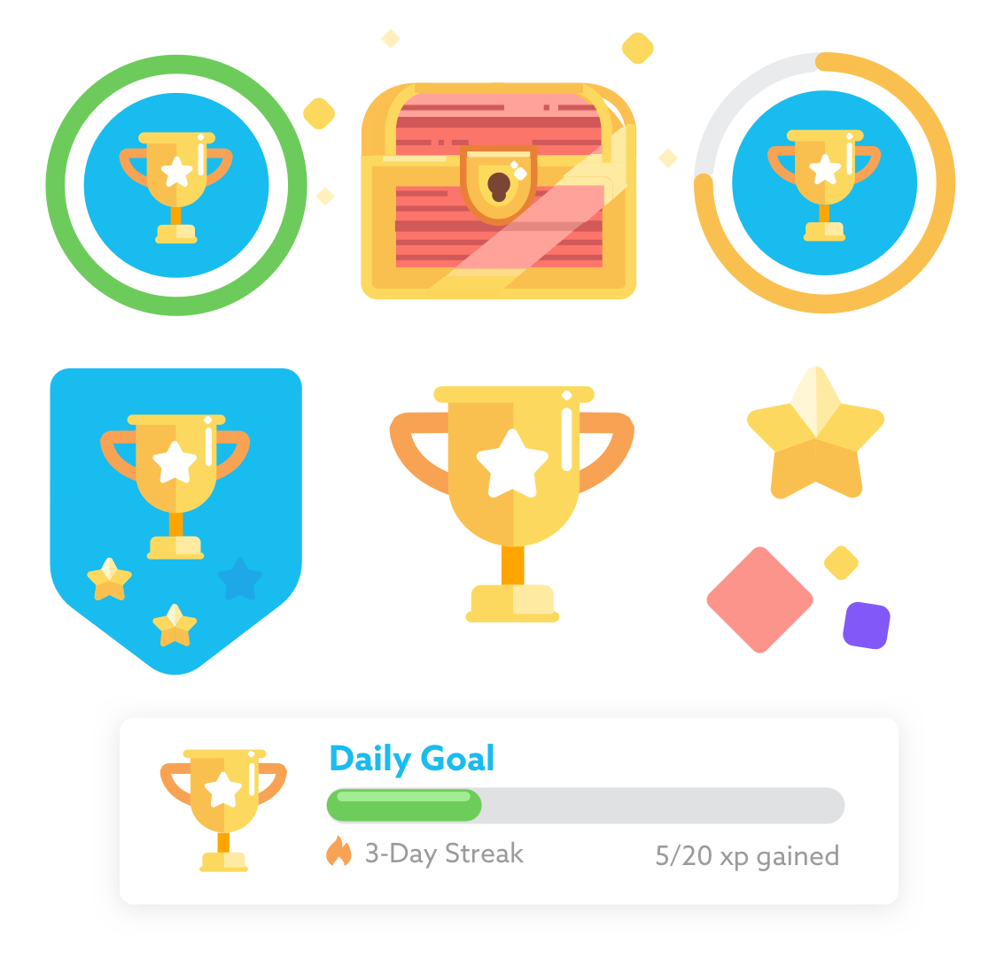Assets made for Daily Reading Goal