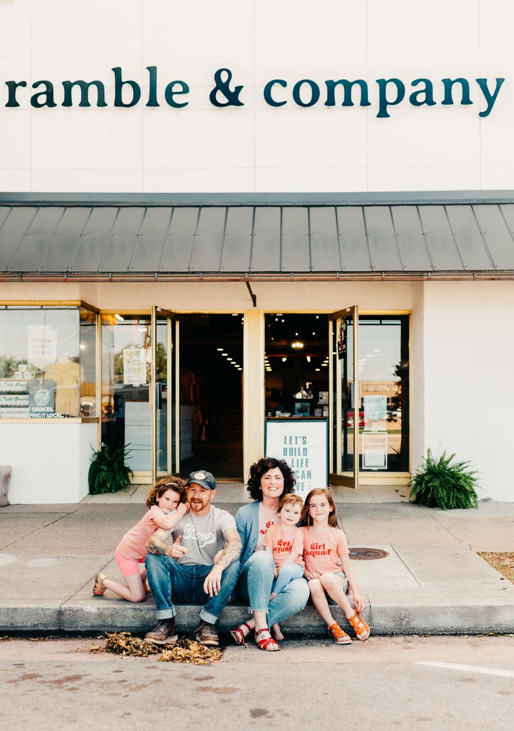 Ramble & Company \\  local guide + wichita falls, texas