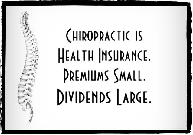 R eceive a Quote of your Chiropractic Health Benefits today!  Call       319-325-3558