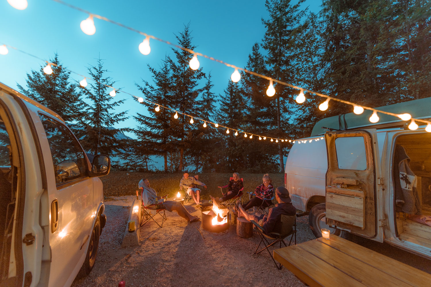 A free and legal campsite will always be more fun and a better option, so do your research to have stress free campsites like this.