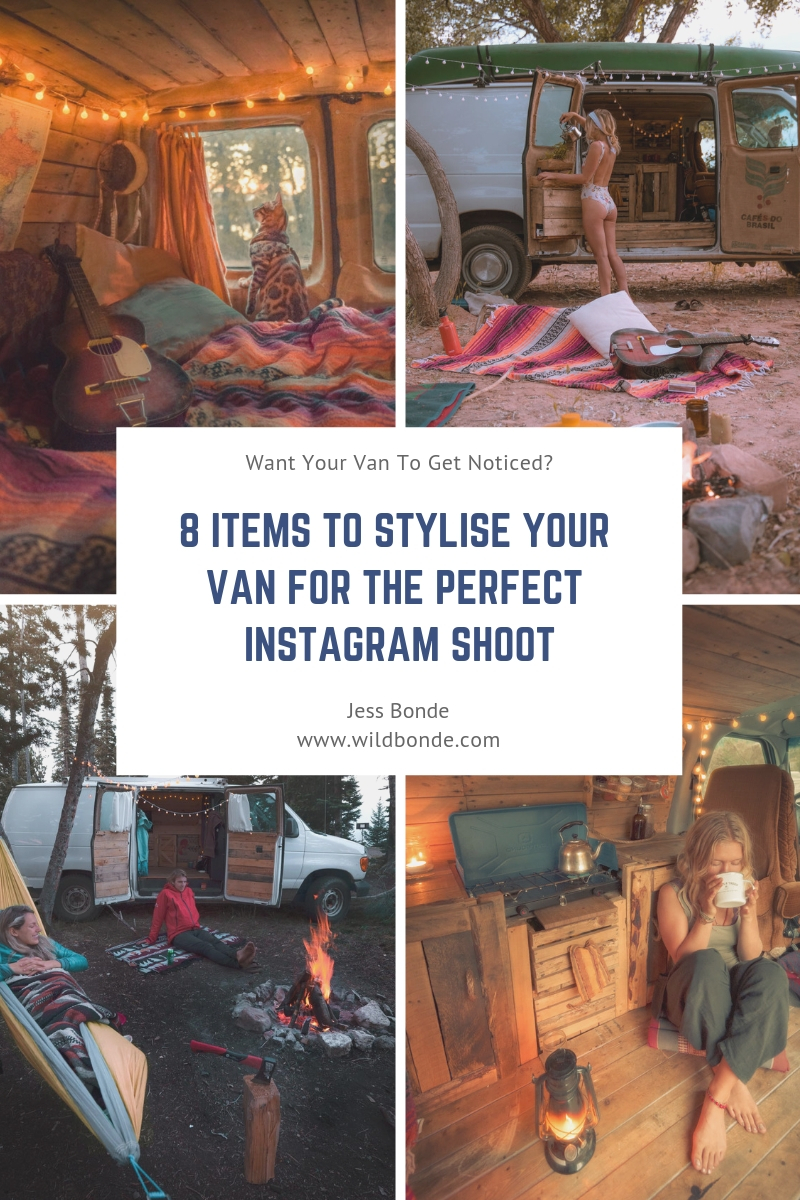 8 Items to Stylise Your Van For The Perfect Instagram Shoot