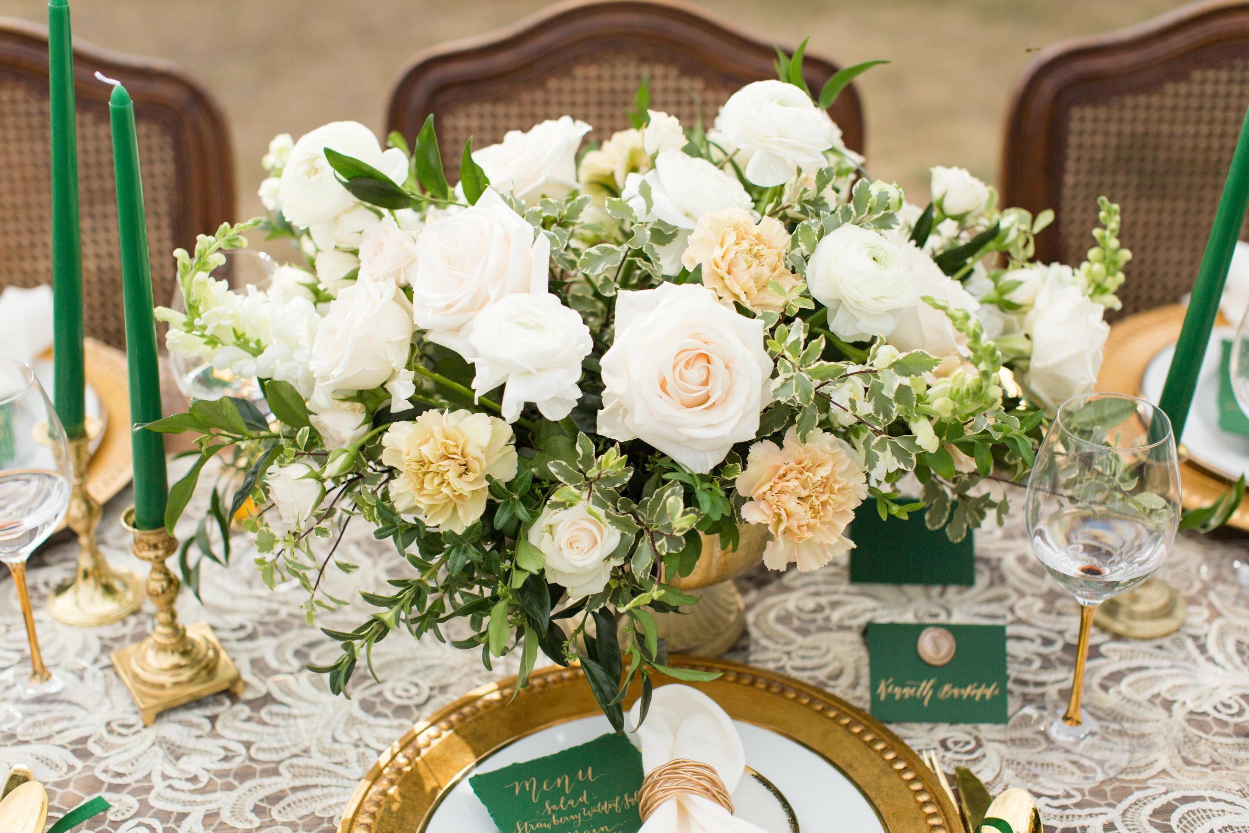Outdoor wedding flowers Chicago