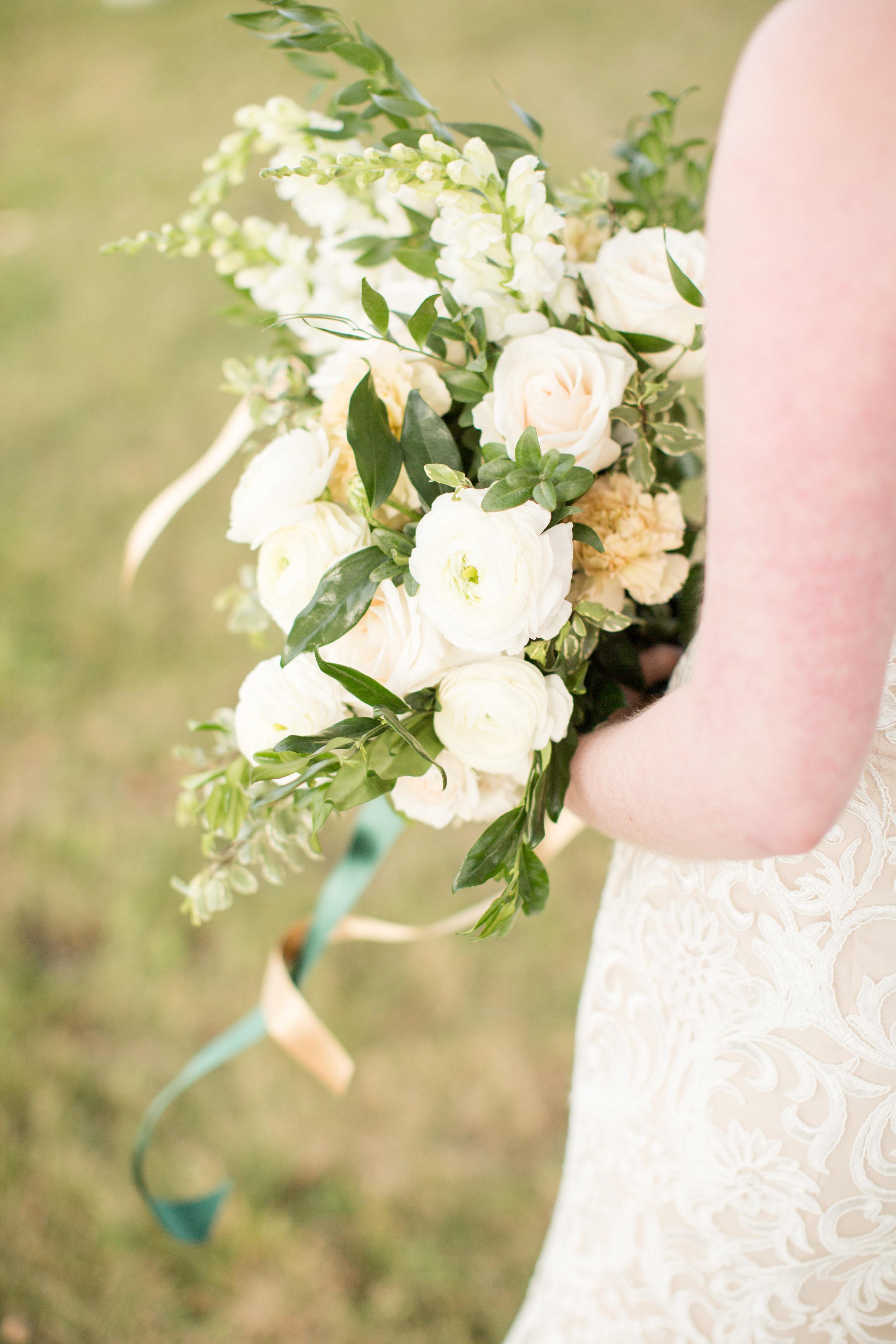 Organic wedding bridal bouquet Chicago