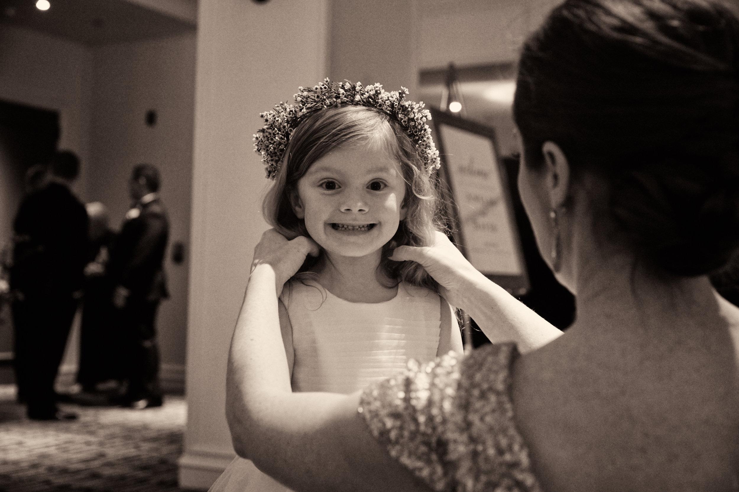 flower girl crown Chicago