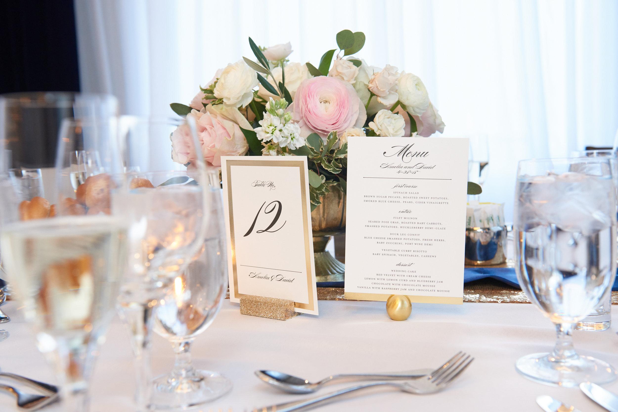classic blush wedding flowers chicago kimpton gray