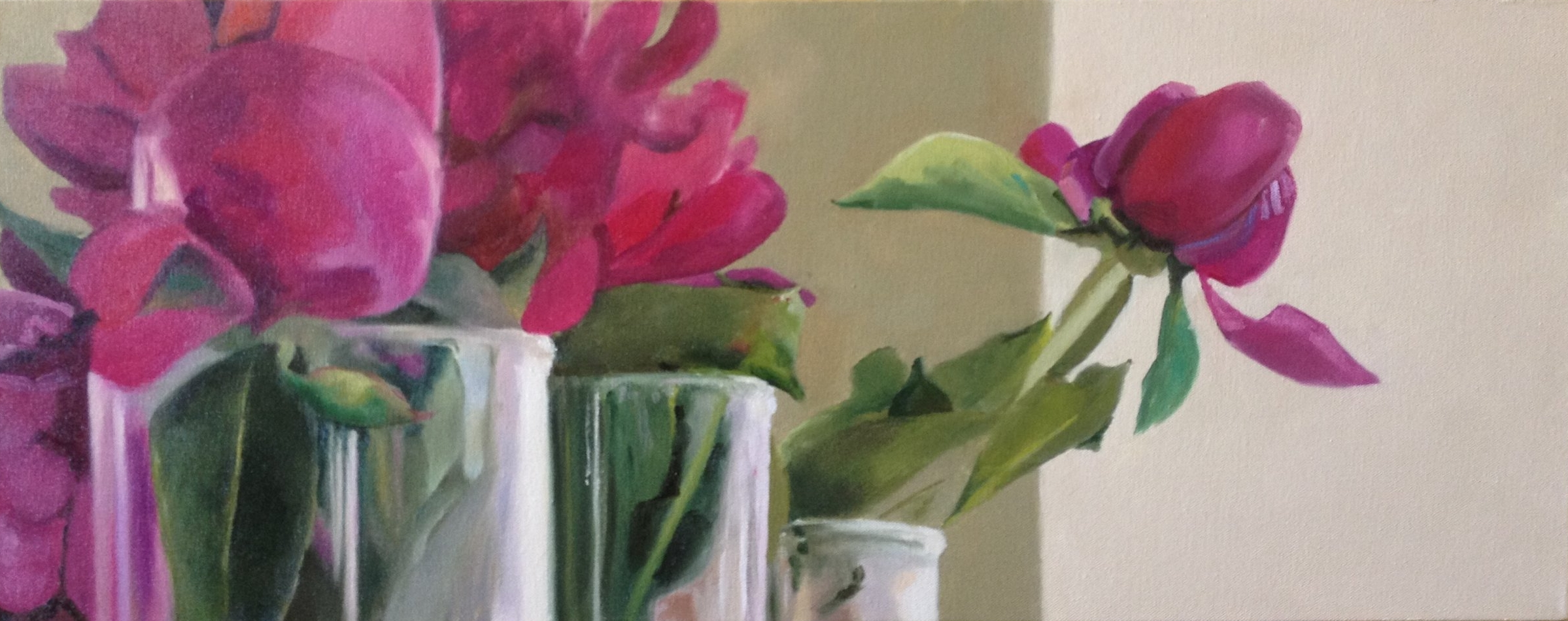 Peonies in Glass 2